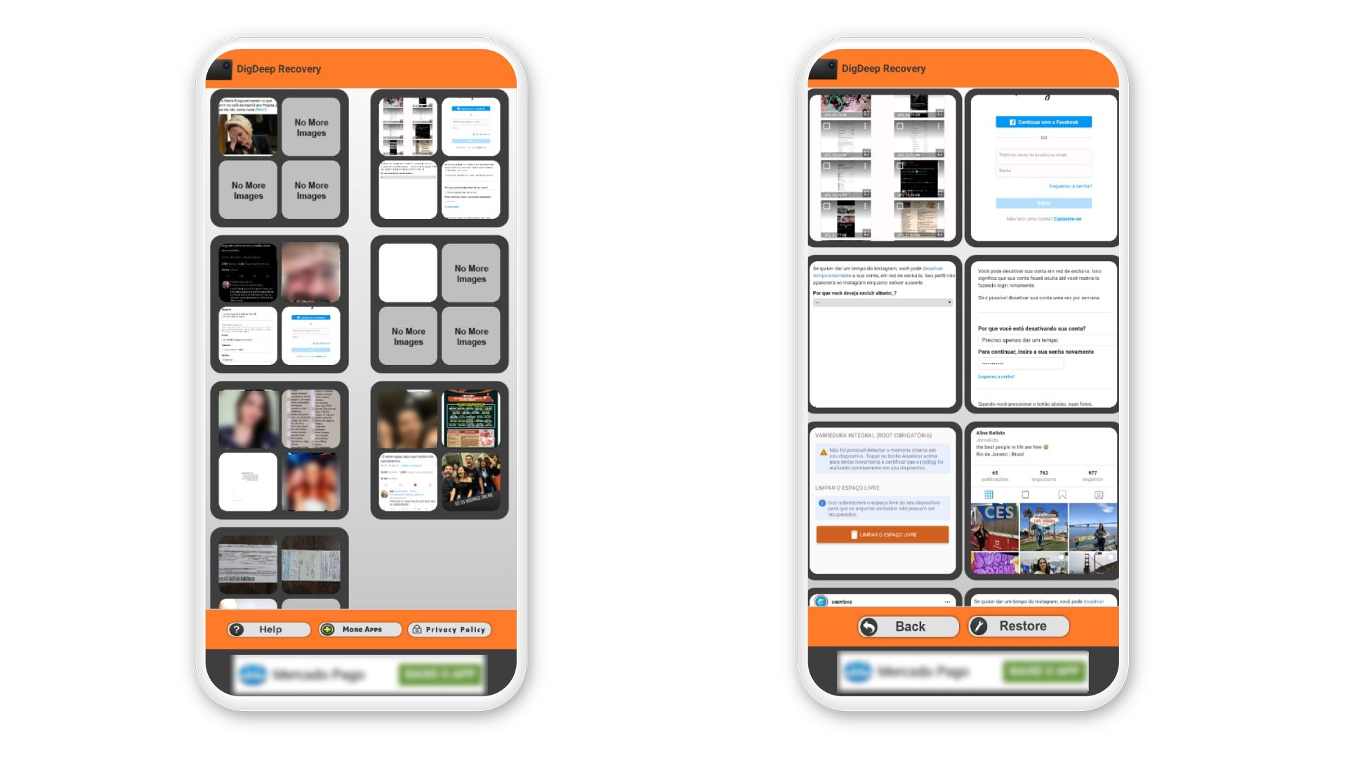 Como recuperar fotos apagadas? App DigDeep é uma opção gratuita (Foto: Arte/Zoom)