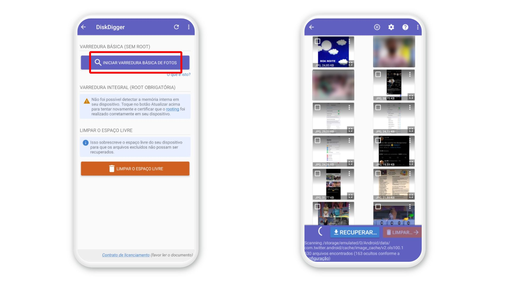 Como recuperar fotos apagadas? DiskDigger restaura vários tipos de arquivos (Foto: Arte/Zoom)