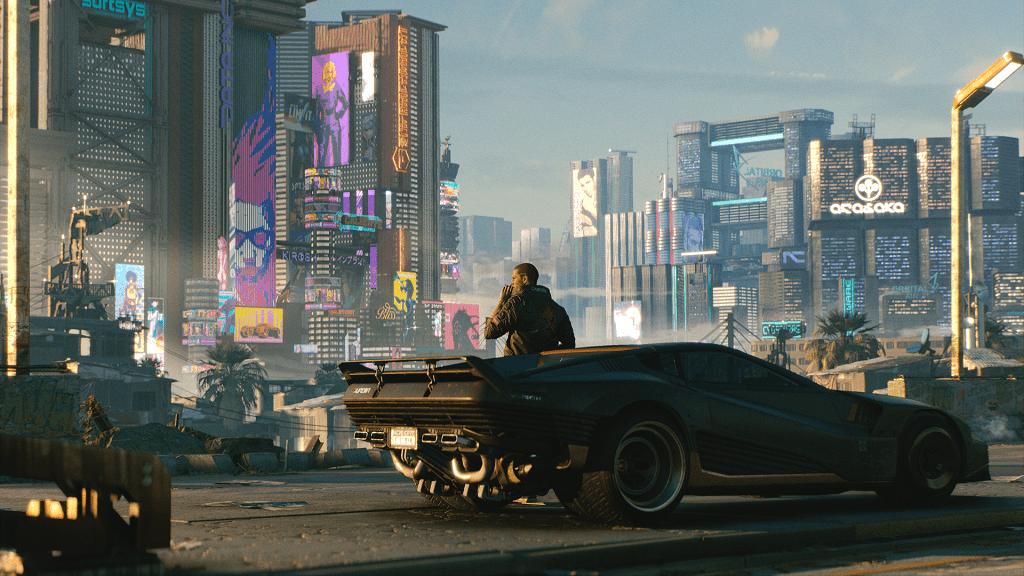 Apesar do polêmico lançamento para consoles, Cyberpunk 2077 possui gráficos estonteantes em seus requisitos máximos (Fonte: CD Projekt Red/Divulgação