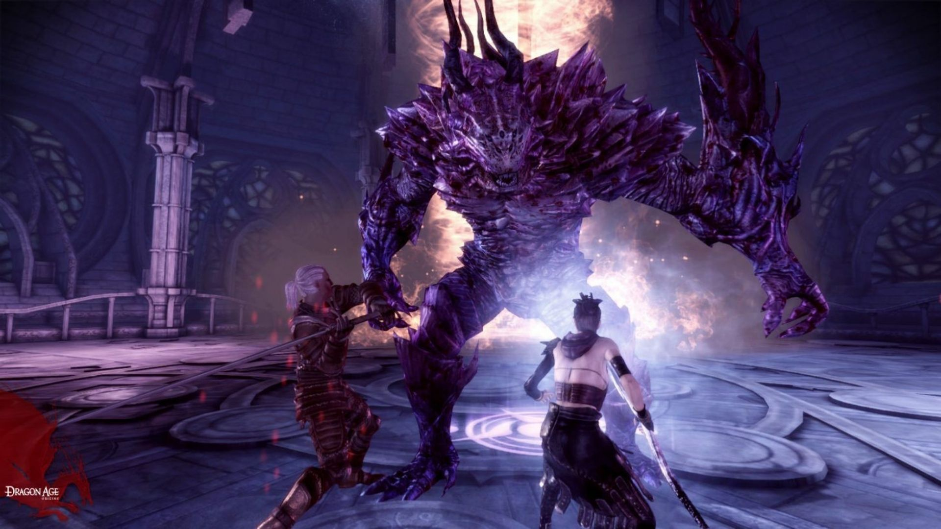 Dragon Age: Origins foi o primeiro jogo da franquia (Fonte: Divulgação / Bioware)