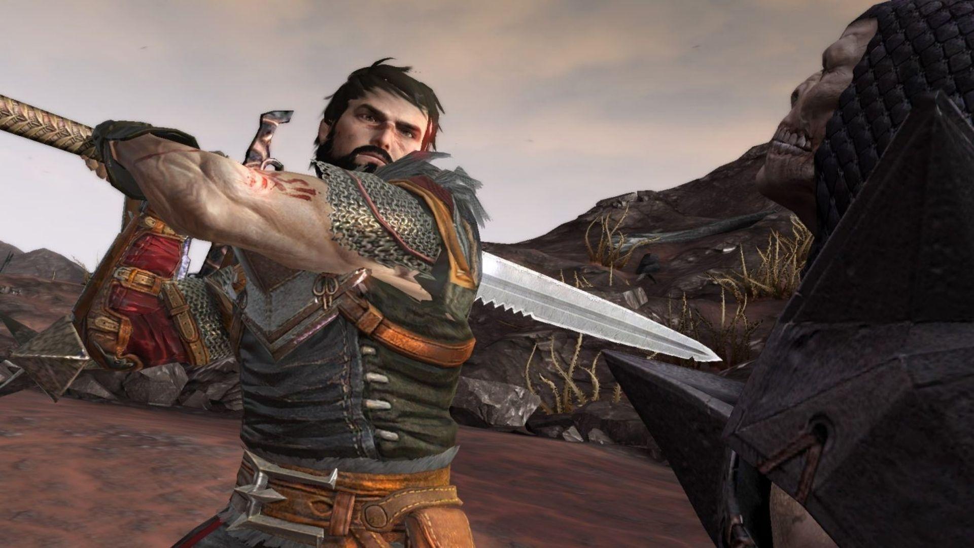 O campeão de Kirkwall é o protagonista de Dragon Age II (Fonte: Divulgação / Bioware)