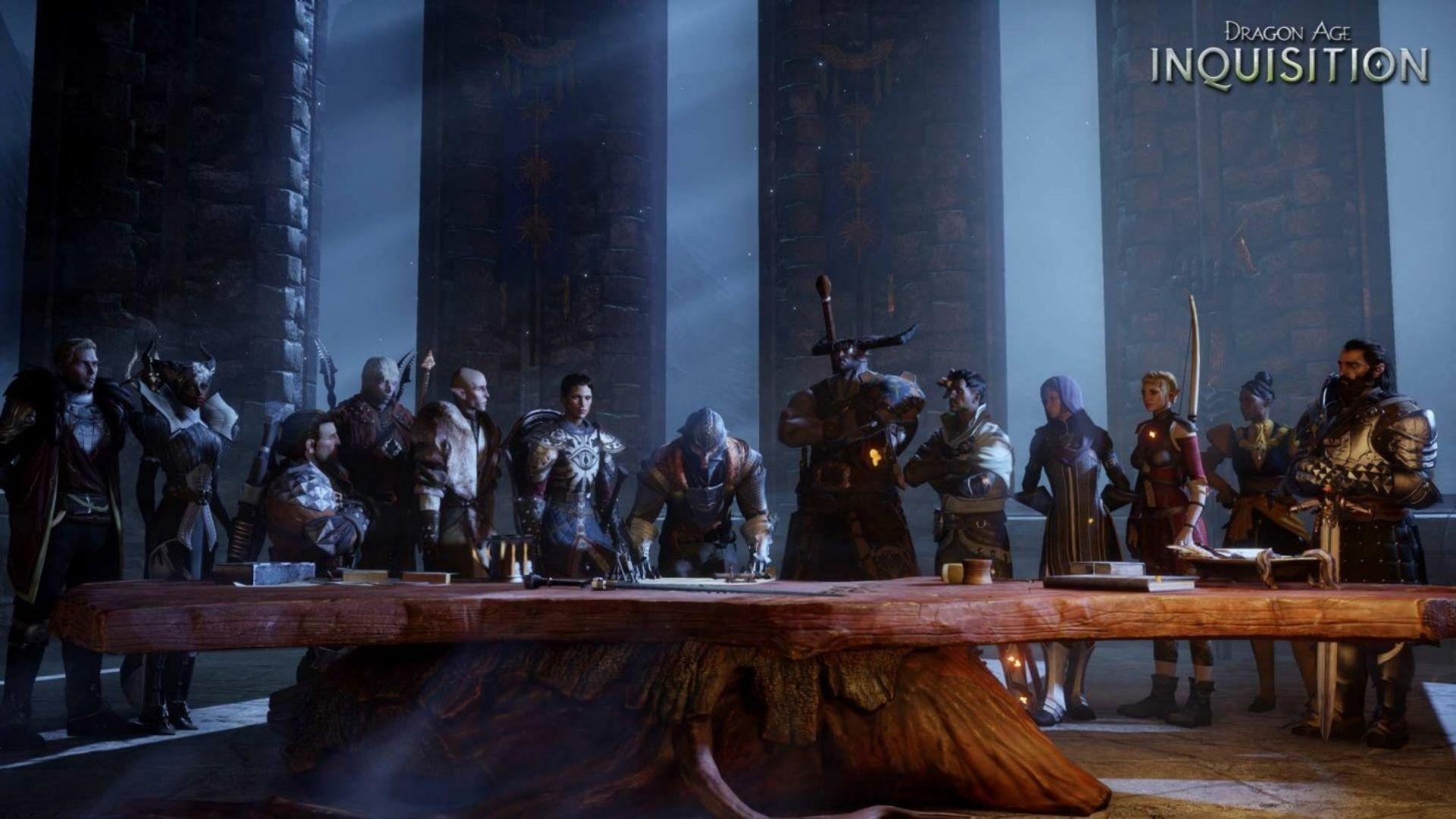 Em Dragon Age: Inquisition, o protagonista se torna líder de uma poderosa organização (Fonte: Divulgação / Bioware)
