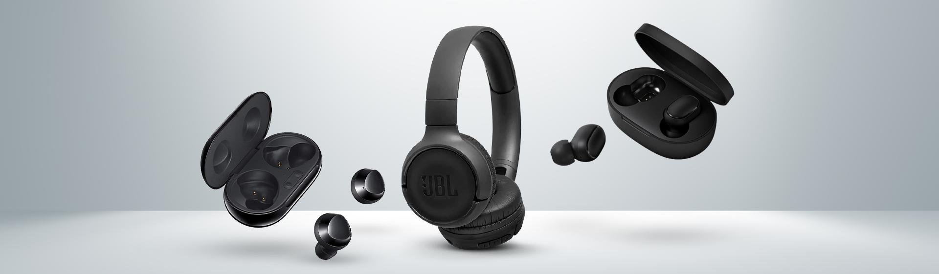 Fones de ouvido mais vendidos: modelos baratos lideram em fevereiro