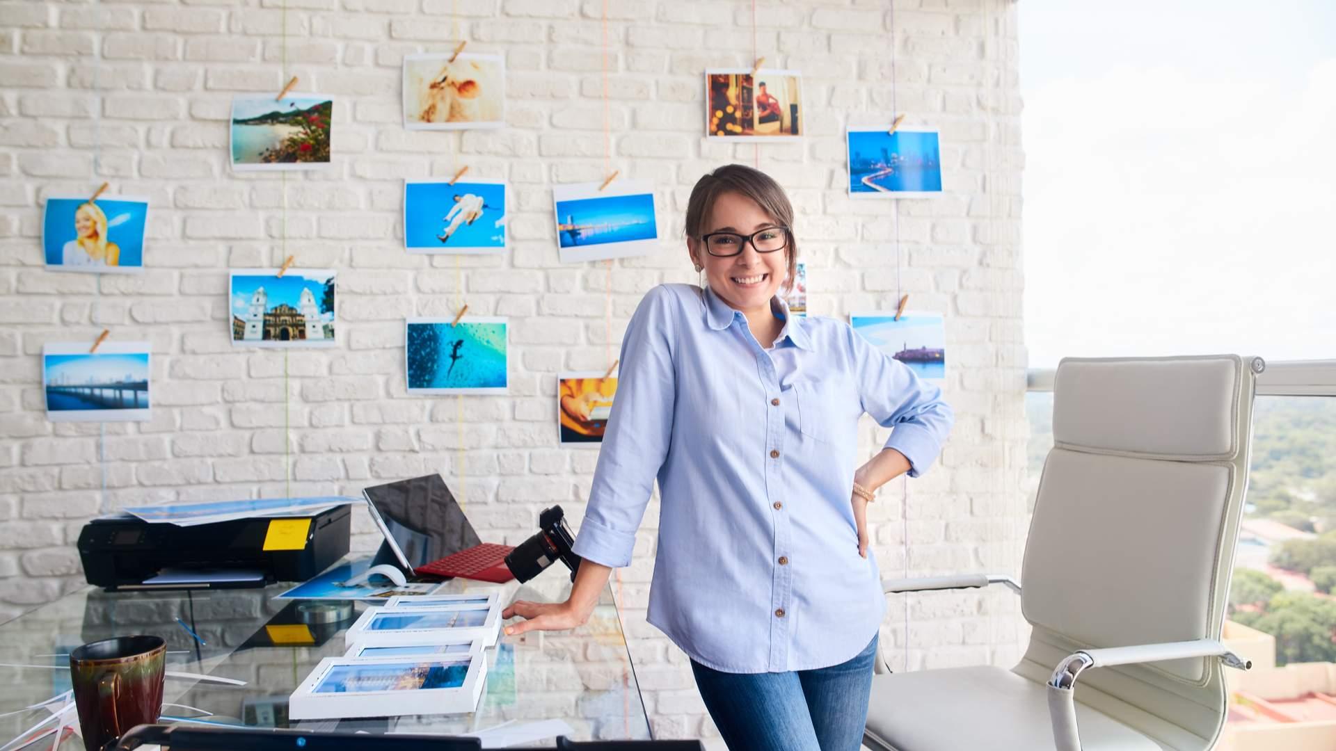 O que acha de usar impressoras fotográficas e ter o seu próprio estúdio? (Fonte: Shutterstock/Diego Cervo)