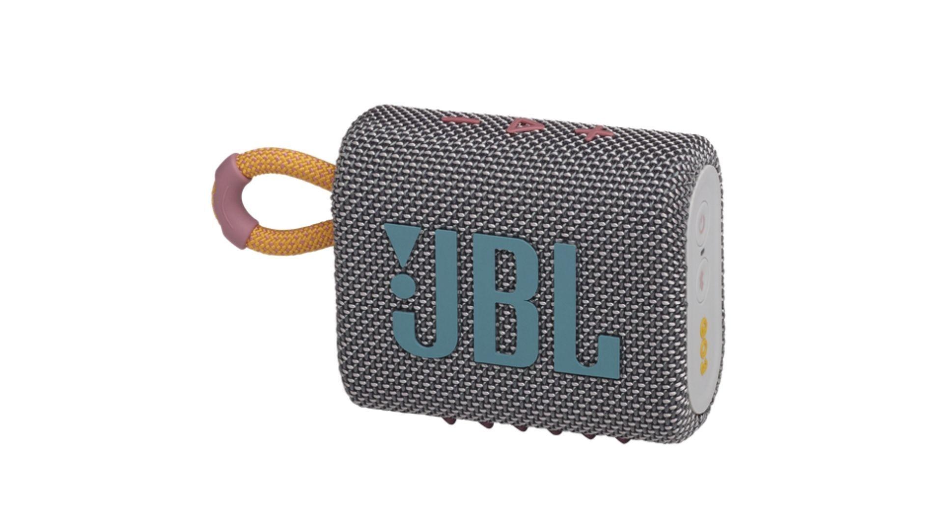 A JBL Go 3 teve muitas mudanças de design. Divulgação JBL.