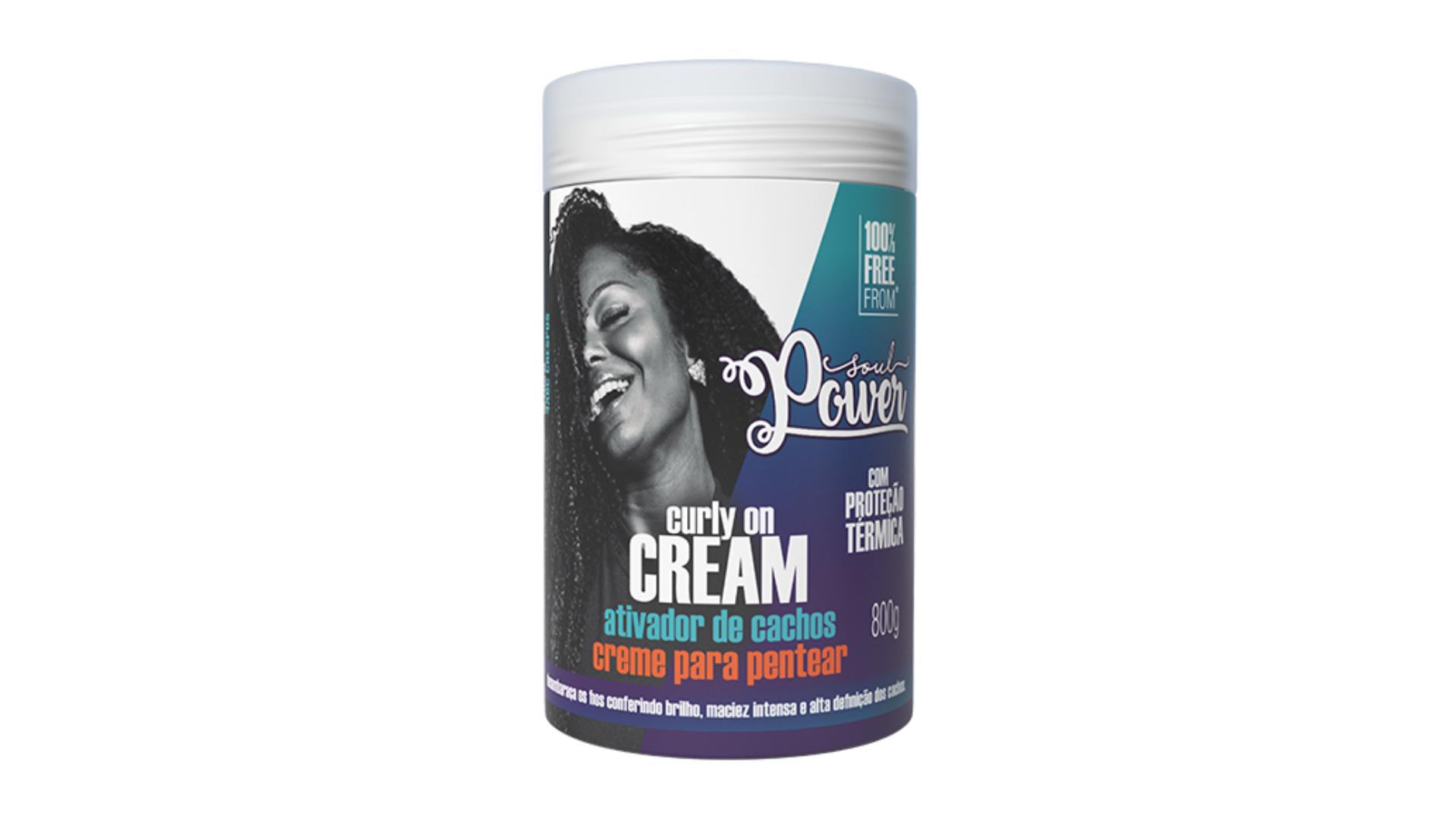Soul Power Curly On Cream (Imagem: Divulgação/Soul Power)