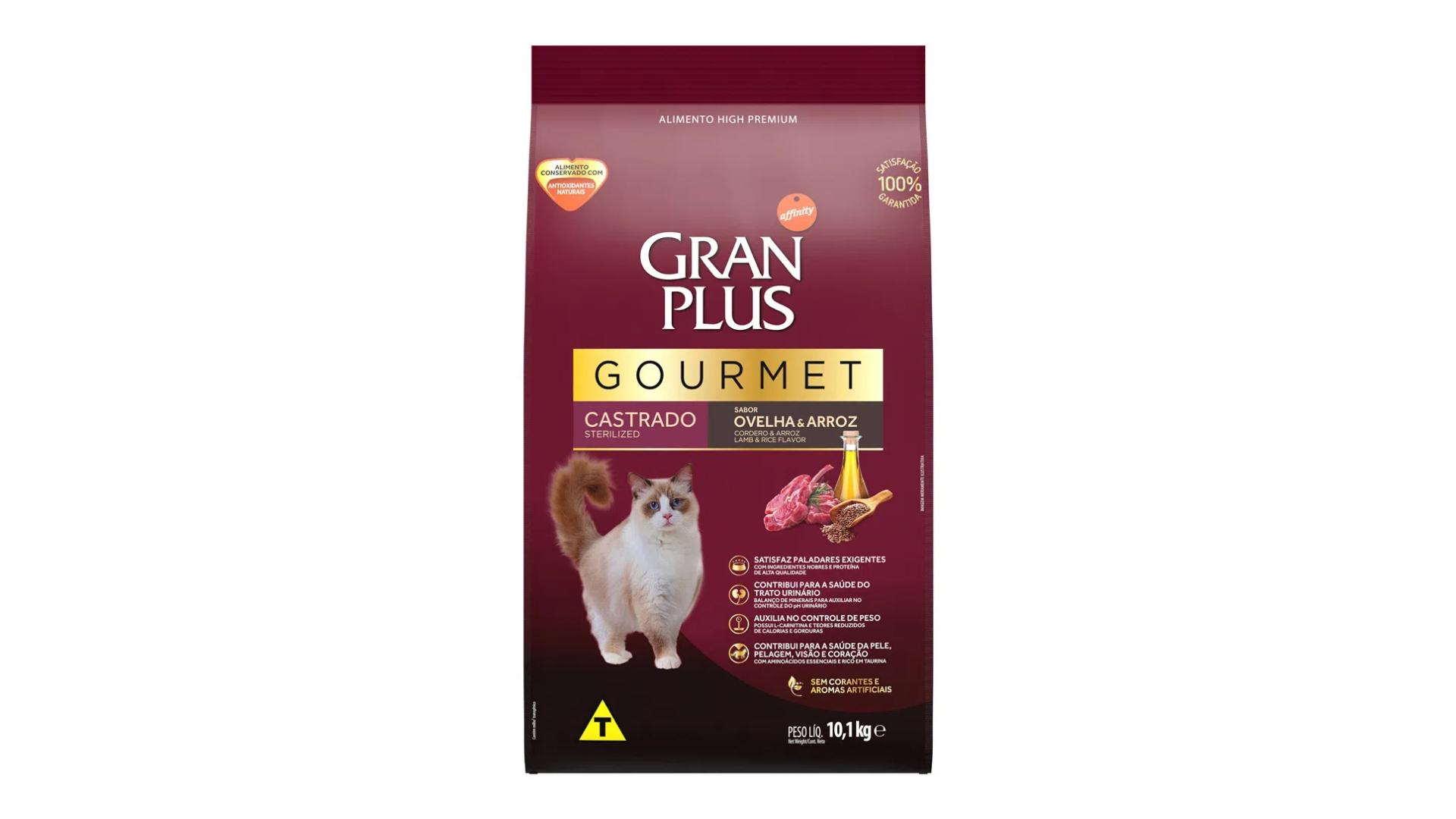 GranPlus Gourmet Sterilised (Imagem: Divulgação: GranPlus)