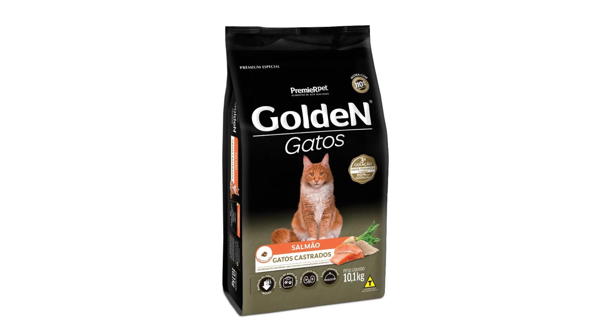 Golden Gatos Castrados (Imagem: Divulgação/PremieR Pet)