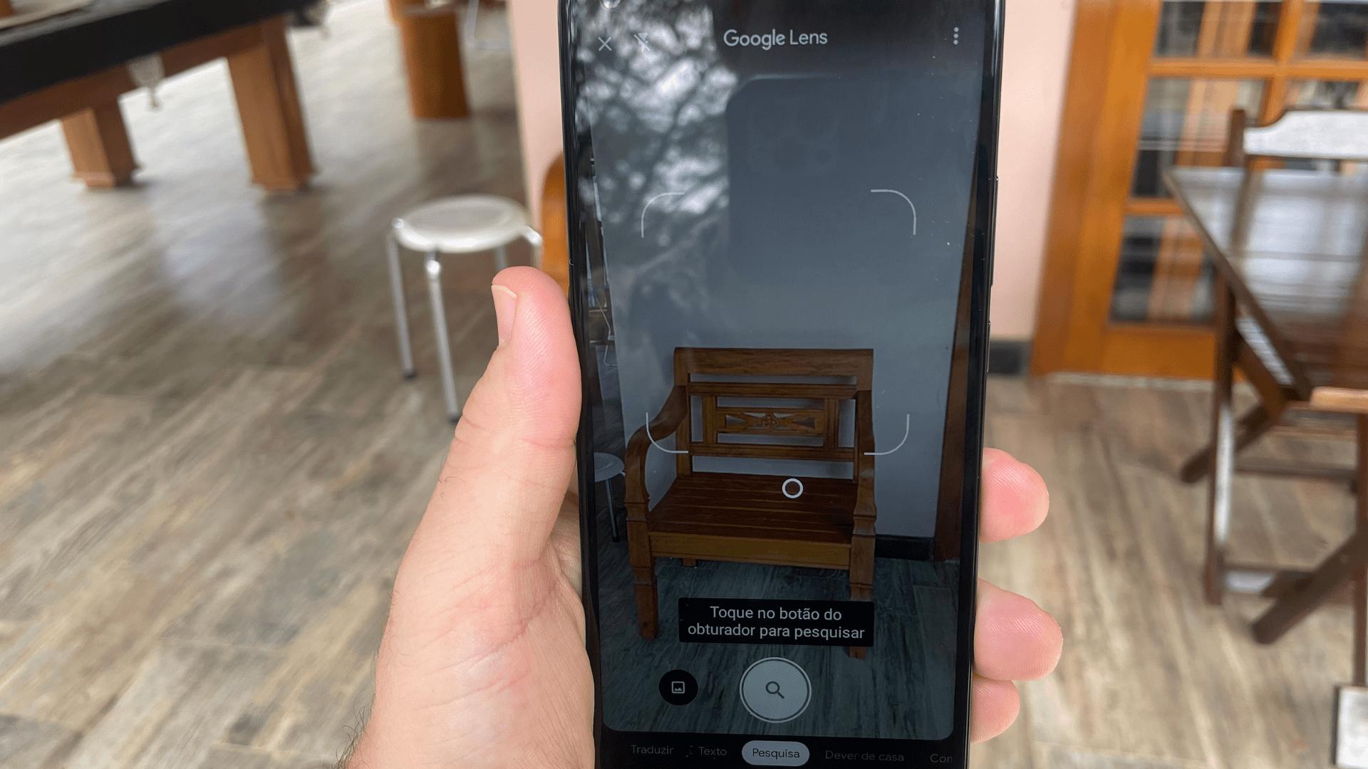 Moto G9 Power tem recurso Google Lens (Foto: Gabriel Fricke / Zoom)