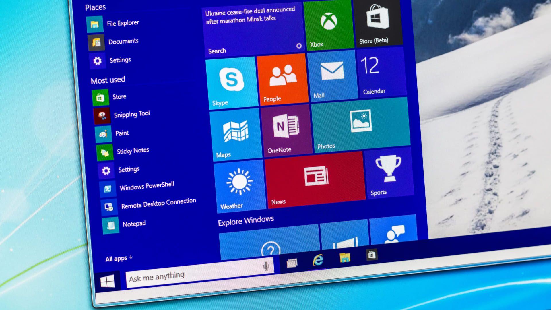 O Windows é um dos sistemas operacionais mais populares (Foto: Shutterstock)