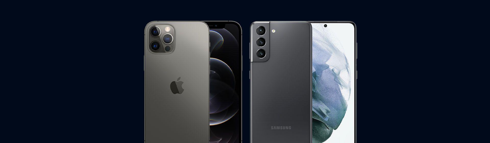 iPhone 12 Pro vs Galaxy S21 Plus: comparativo entre os celulares Apple e Samsung