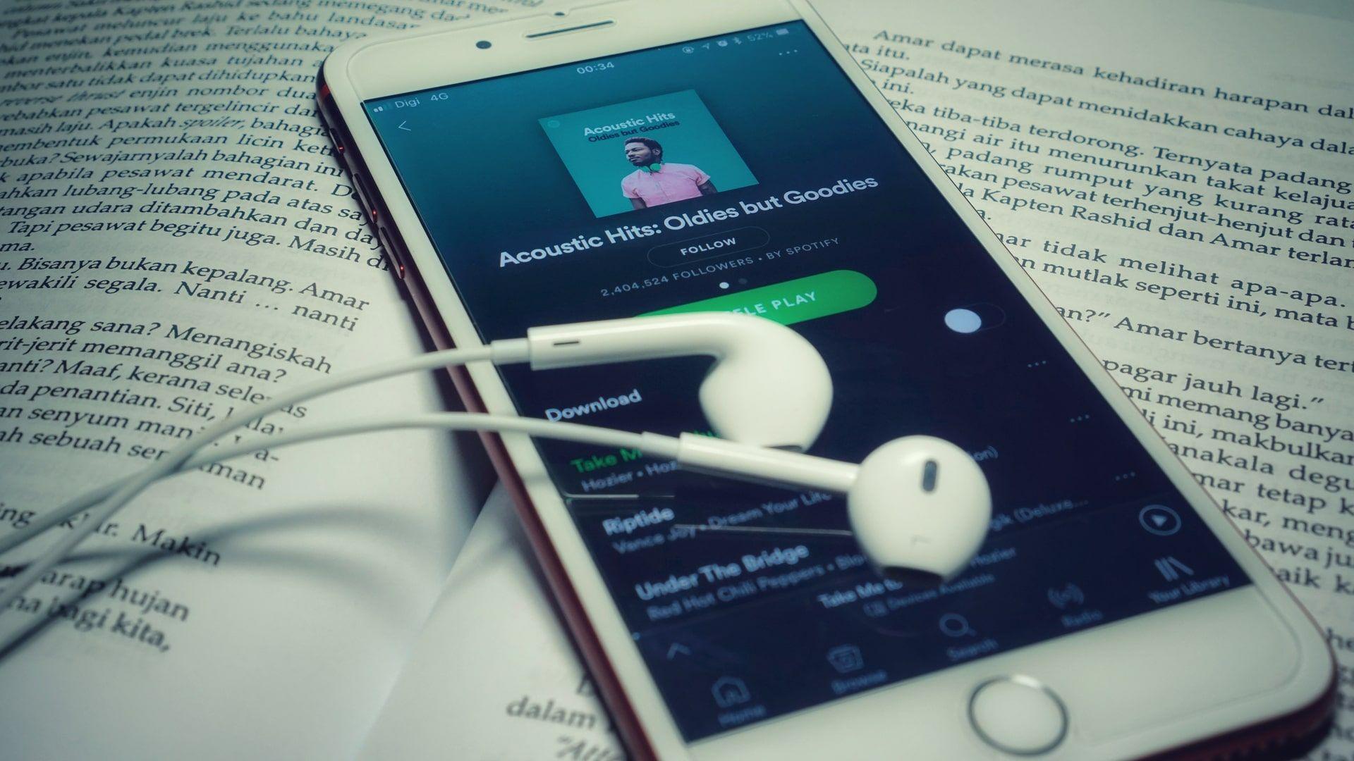 Spotify é um dos principais serviços de streaming de música (Foto: Shutterstock)
