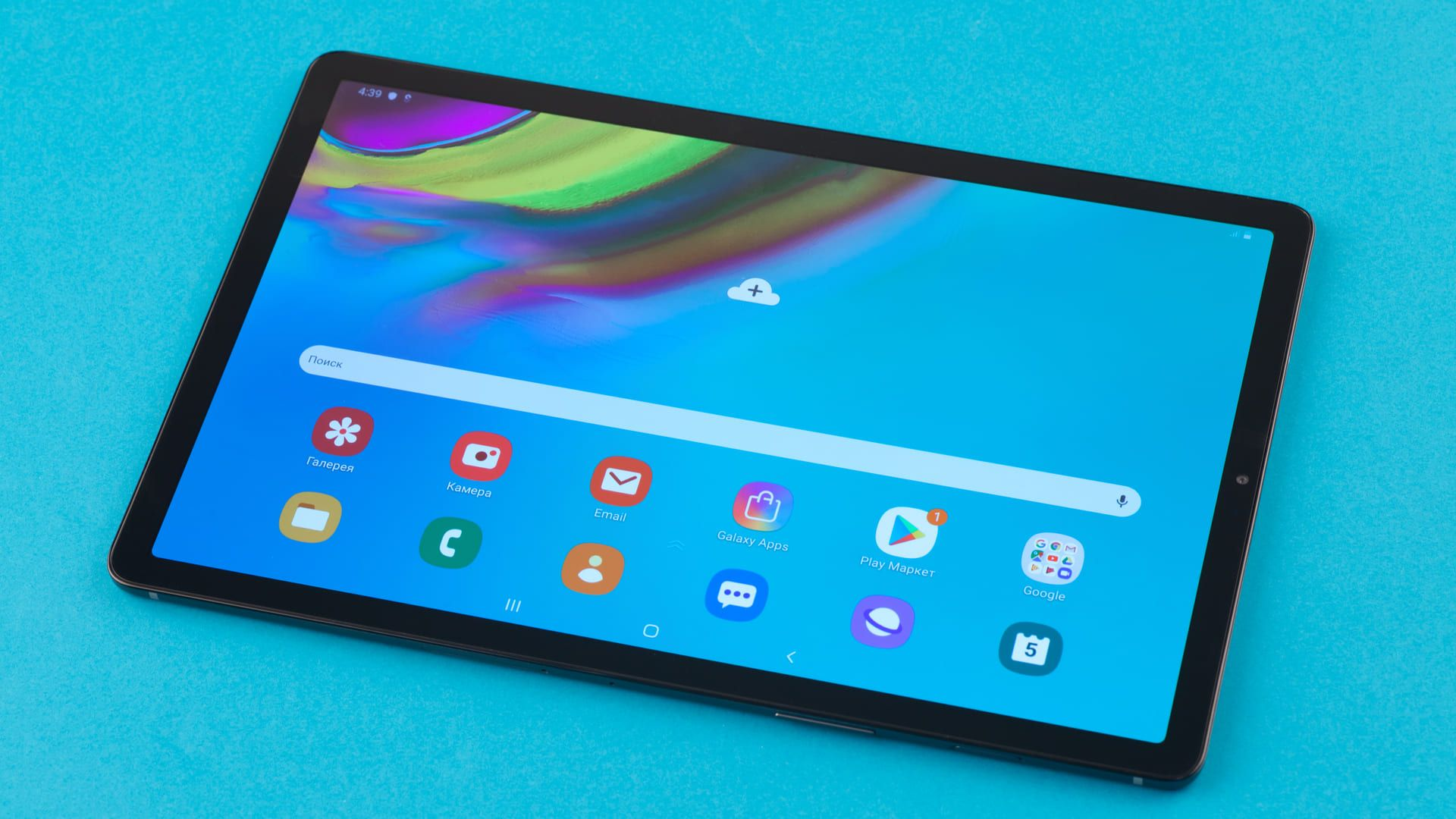 O Galaxy Tab S5e possui tela Super AMOLED. (Foto: Shutterstock)
