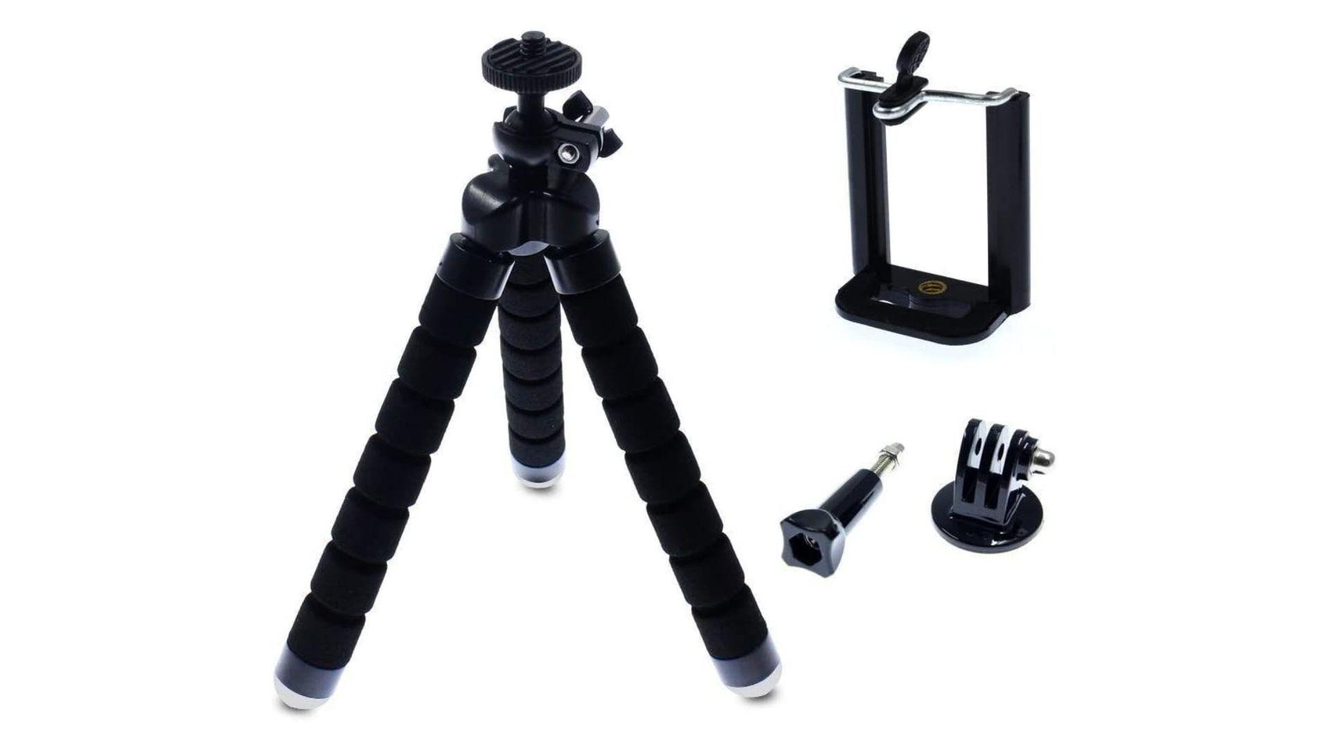 Tripé flexível GoPro Tripod pode ser carregado na mochila (Foto: Divulgação/Olist)