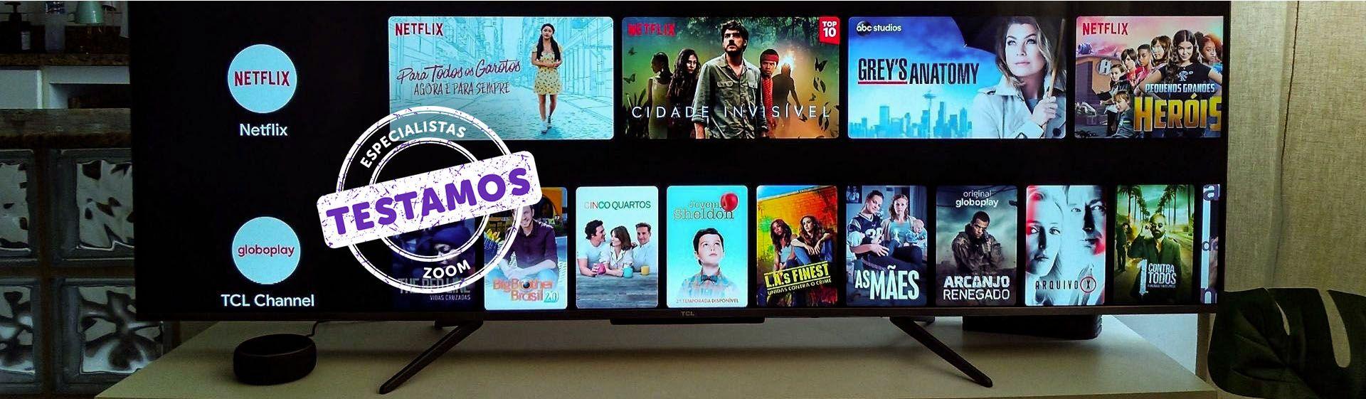 TV TCL C715: smart TV tem tela QLED com resolução 4K e inteligência artificial
