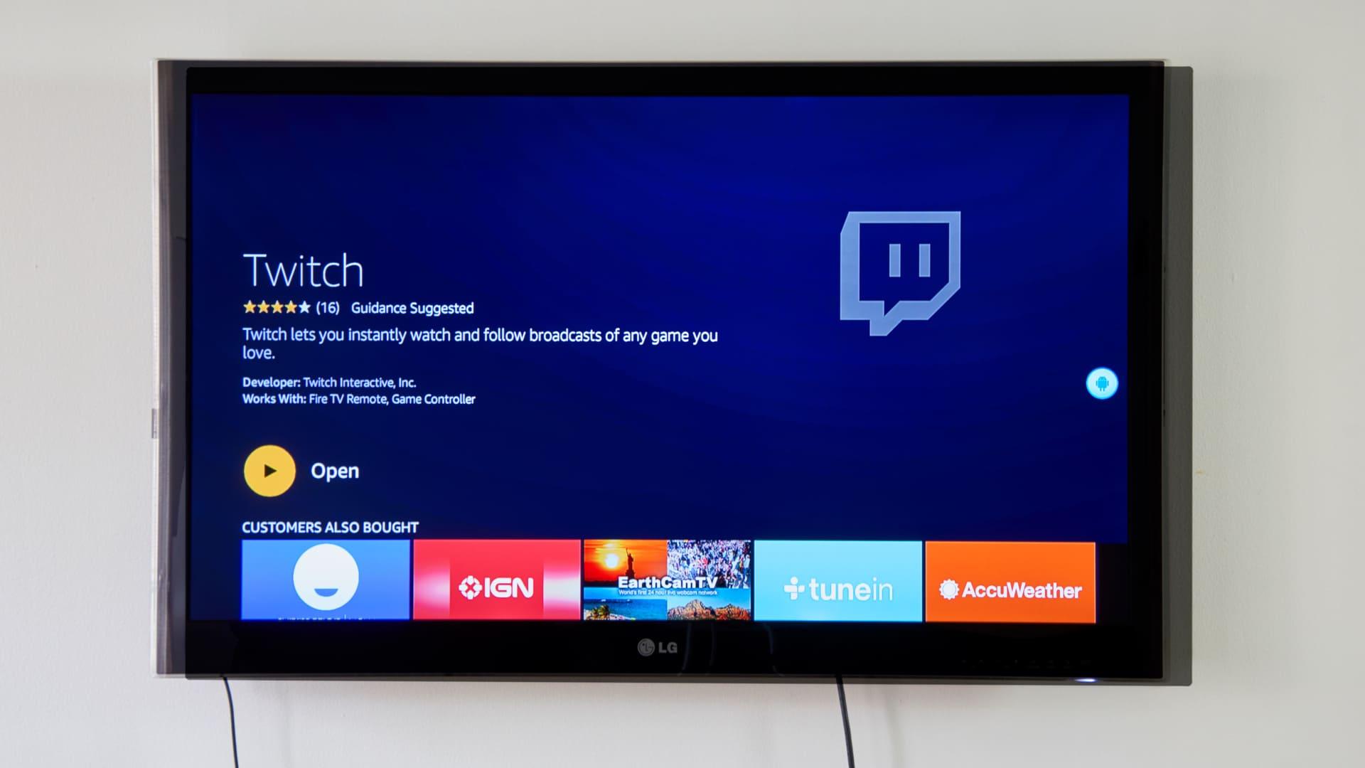 Você pode assistir a Twitch TV pelas Smart TVs e pelas TVs normais. (Imagem: Reprodução/Shutterstock)