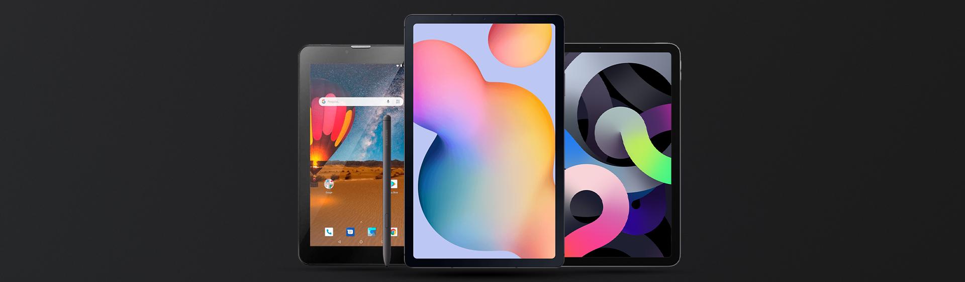 Veja os tablets mais vendidos do Zoom