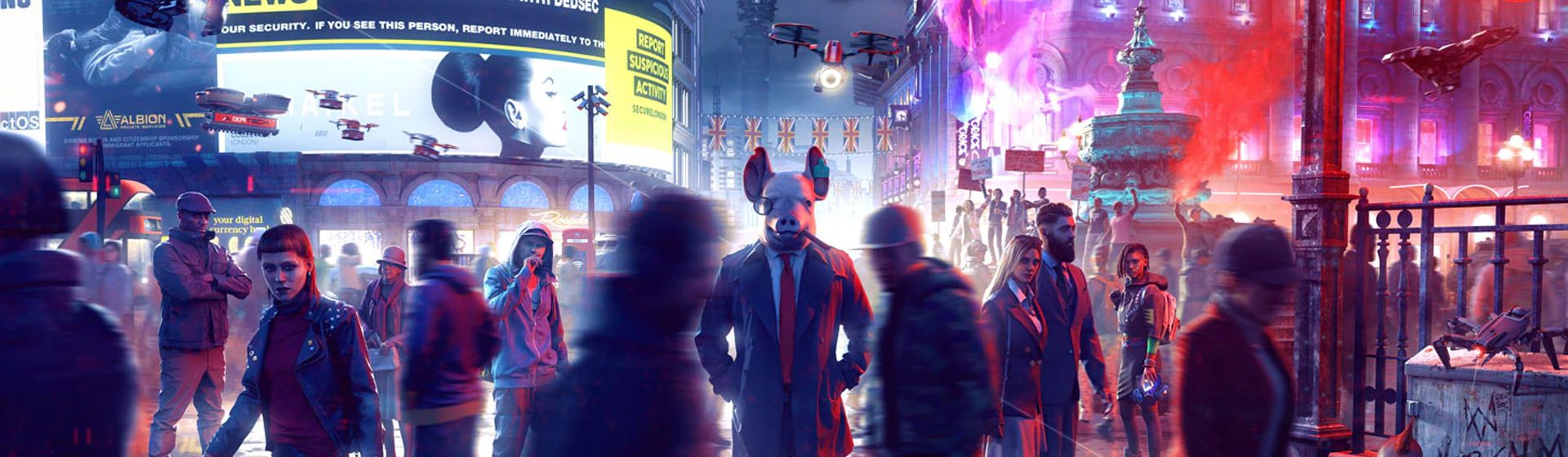 Watch Dogs Legion fica de graça para PlayStation, Xbox e PC