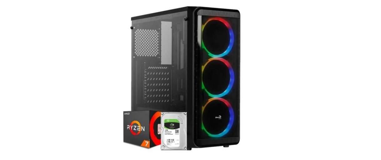 O AMD Ryzen 5 é compatível tanto para computadores modestos para trabalho quanto para os jogos mais exigentes atualmente (Fonte: Divulgação/Submarino)