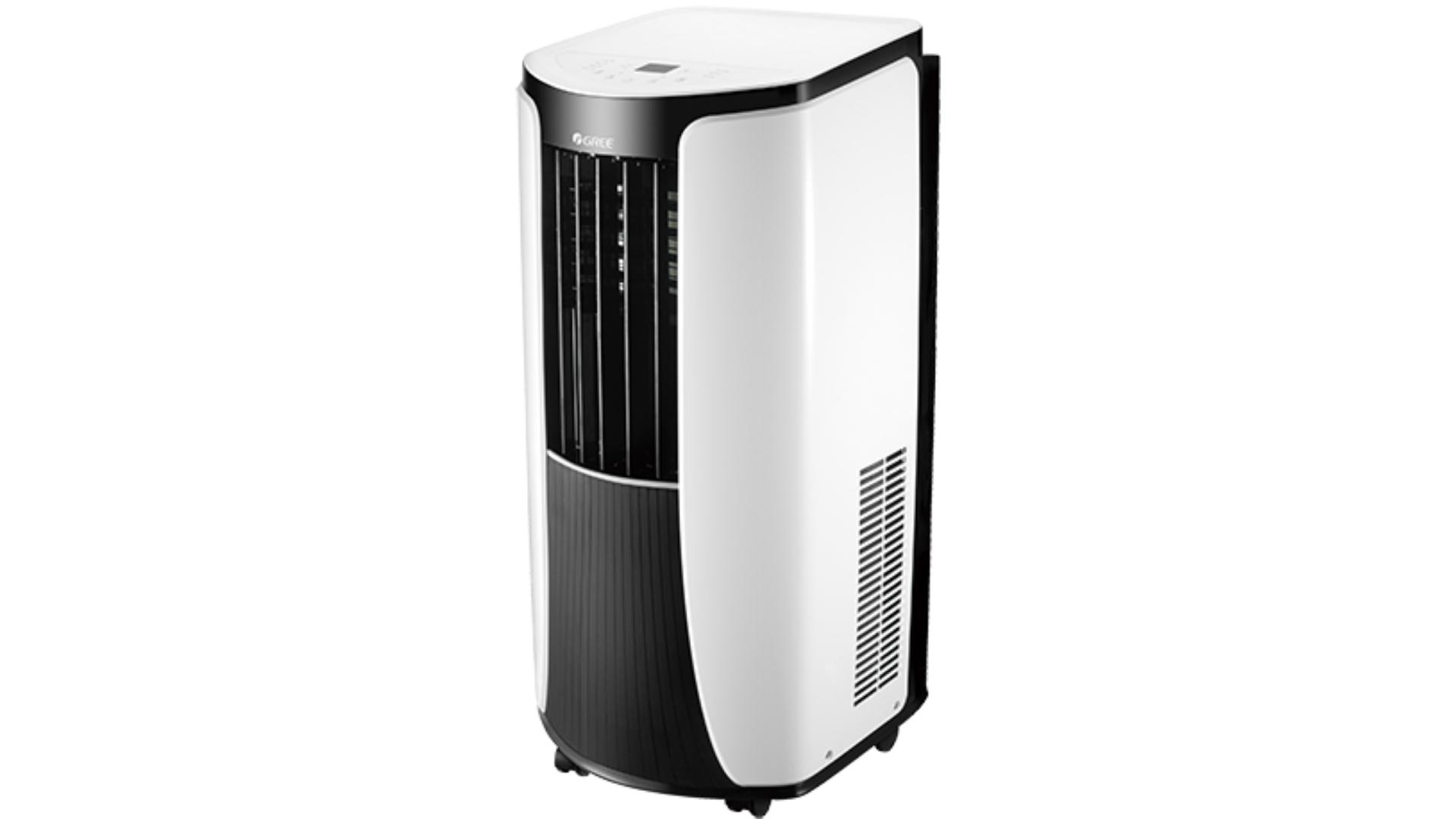 O ar-condicionado portátil Gree traz um design moderno e compacto! (Imagem: Divulgação/Gree)