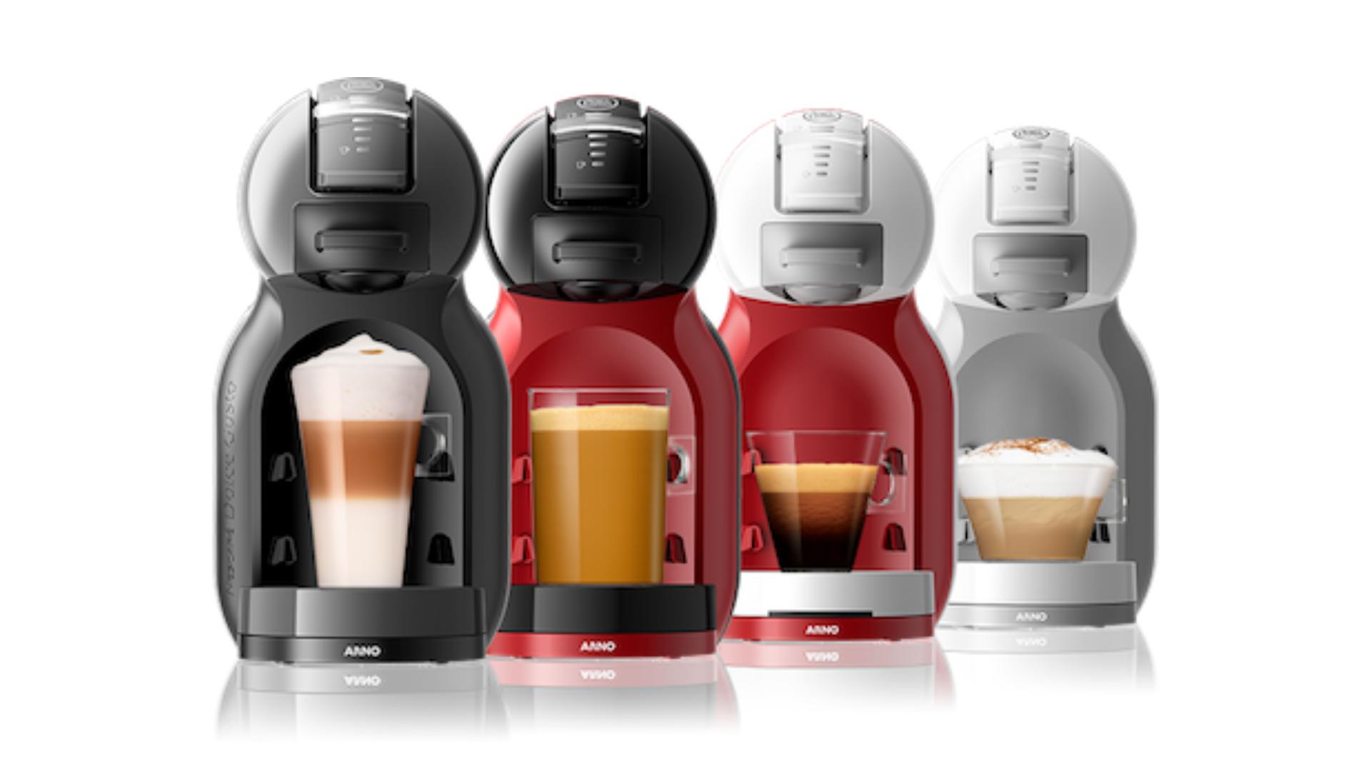 A Mini Me está disponível em diferentes cores e combina com qualquer cômodo. (Imagem: Divulgação/Nescafé)