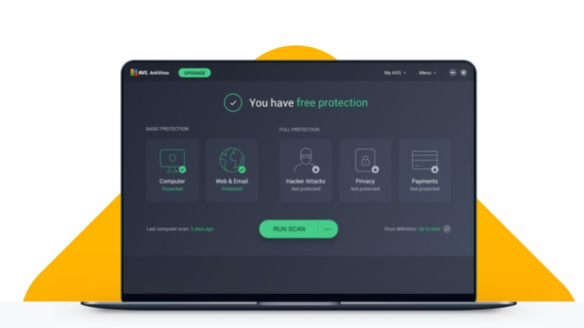 O AVG é um dos antivírus mais populares e possui versão gratuita e paga (Fonte: AVG)