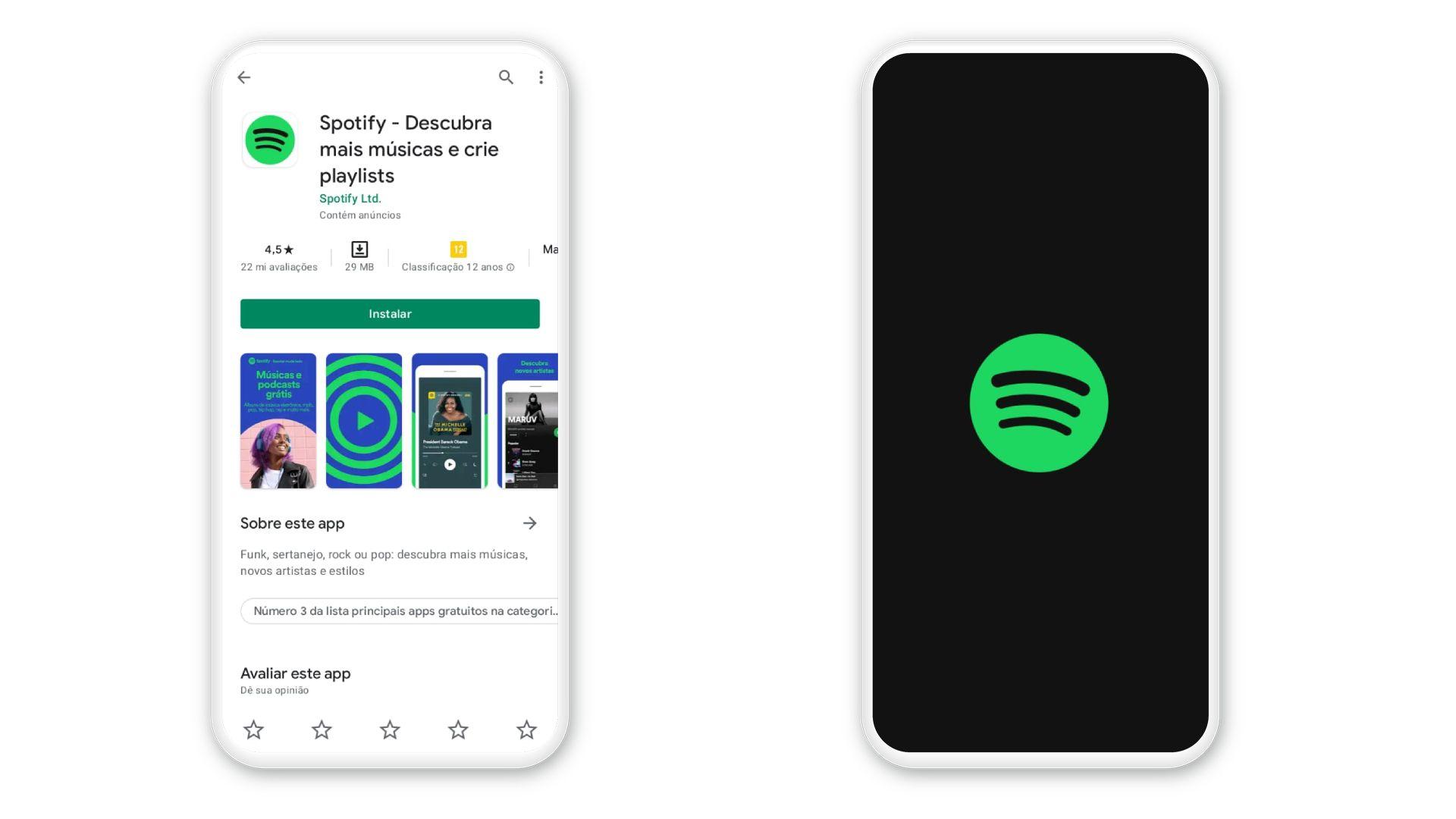 Spotify download: baixe o app no seu celular ou computador (Foto: Reprodução)
