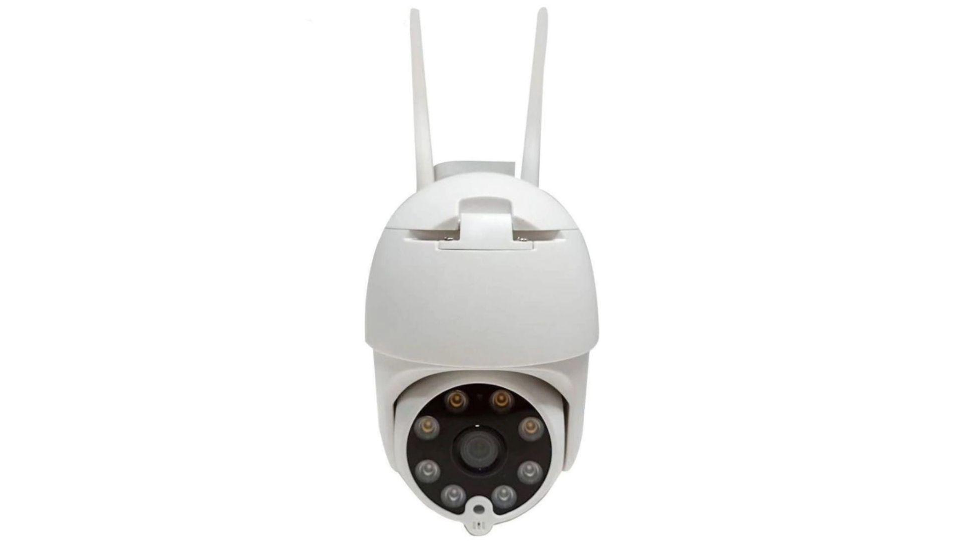 Confita detalhes sobre a câmera Ip Wi-Fi Externa Ptz (Foto: Divulgação)
