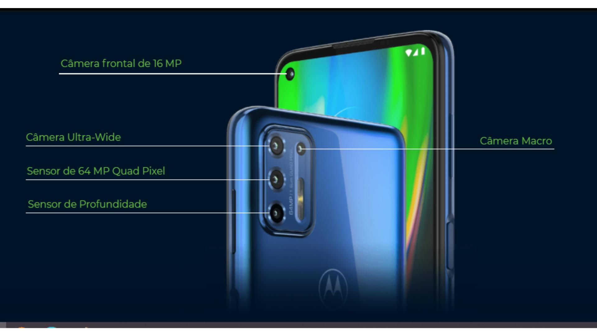O Moto G9 Plus permite fotos nítidas e brilhantes em alta resolução. (Imagem: Divulgação/Motorola)
