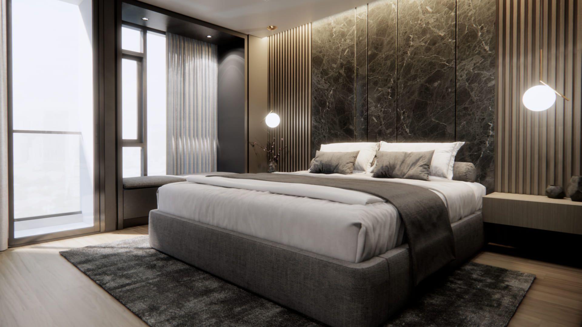 As camas box podem ter baús na estrutura, o que facilita no armazenamento de lençóis e edredons. (Imagem: Reprodução/Shutterstock)