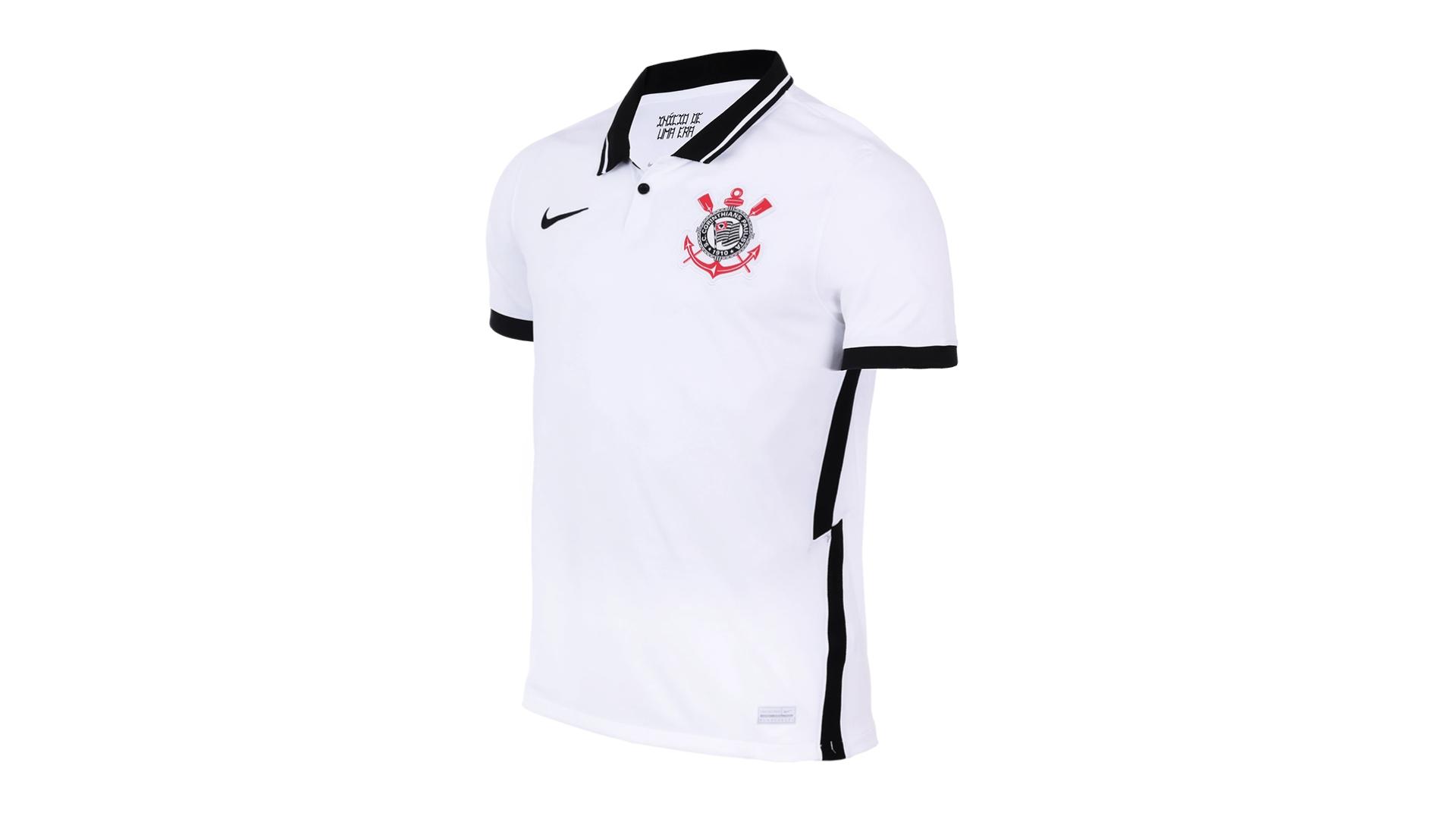 Camisa do Corinthians 2020 Nike Jogo 1 (Imagem: Divulgação/Nike)