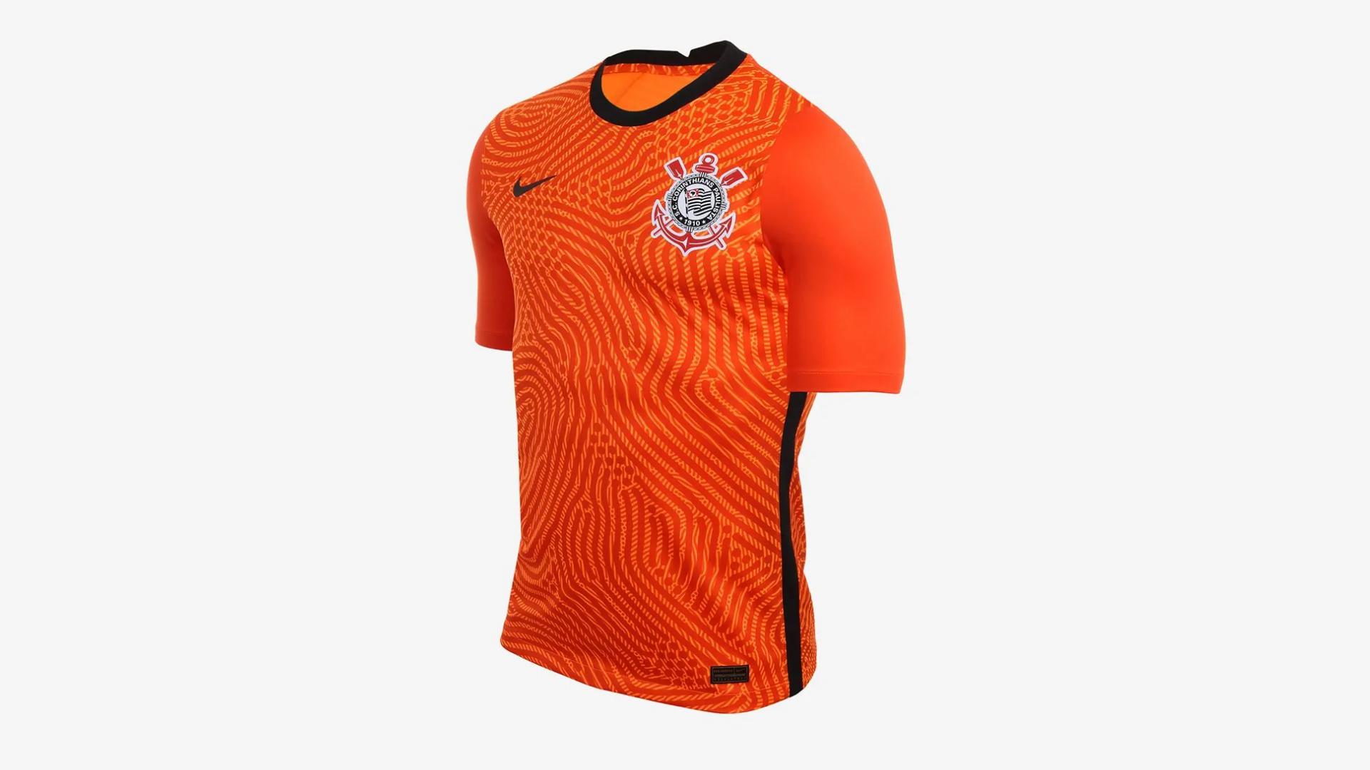 Camisa do Corinthians 2020 Nike Goleiro (Imagem: Divulgação/Nike)