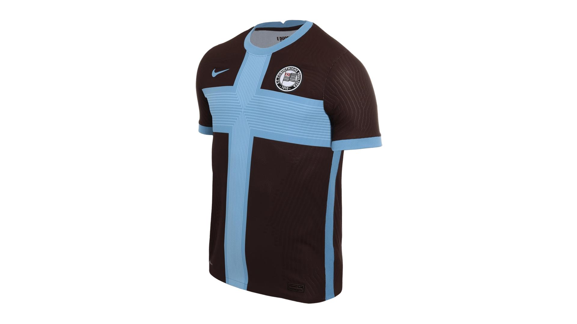 Camisa do Corinthians 2020 Nike Jogo 3 (Imagem: Divulgação/Nike)