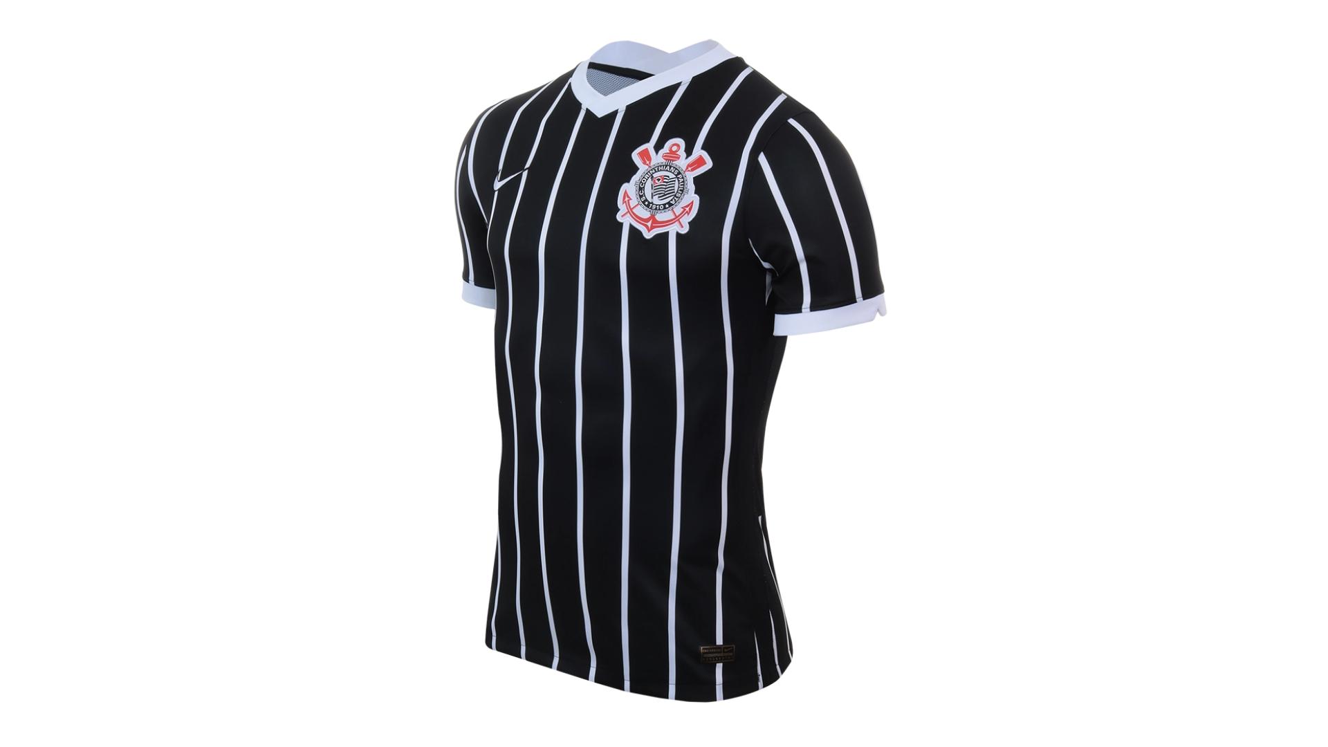 Camisa do Corinthians 2020 Nike Jogo 2 (Imagem: Divulgação/Nike)