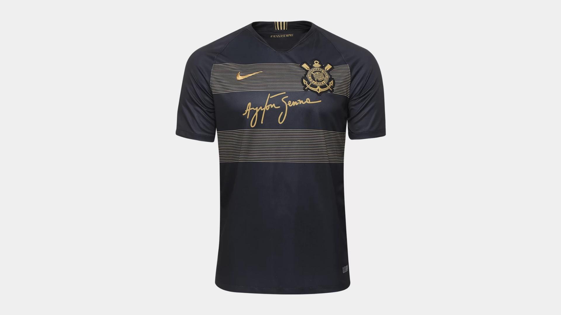 Camisa do Corinthians 2018 Nike Jogo 3 (Imagem: Divulgação/Nike)