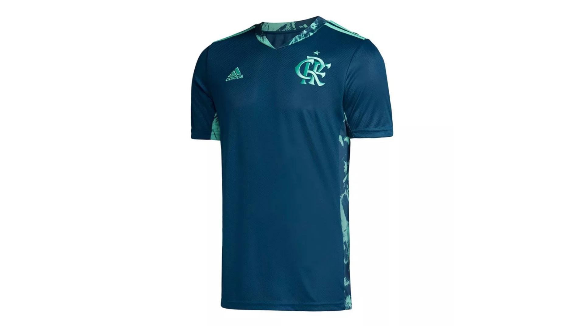 Camisa do Flamengo 2020 Adidas Goleiro (Imagem: Divulgação/Adidas)