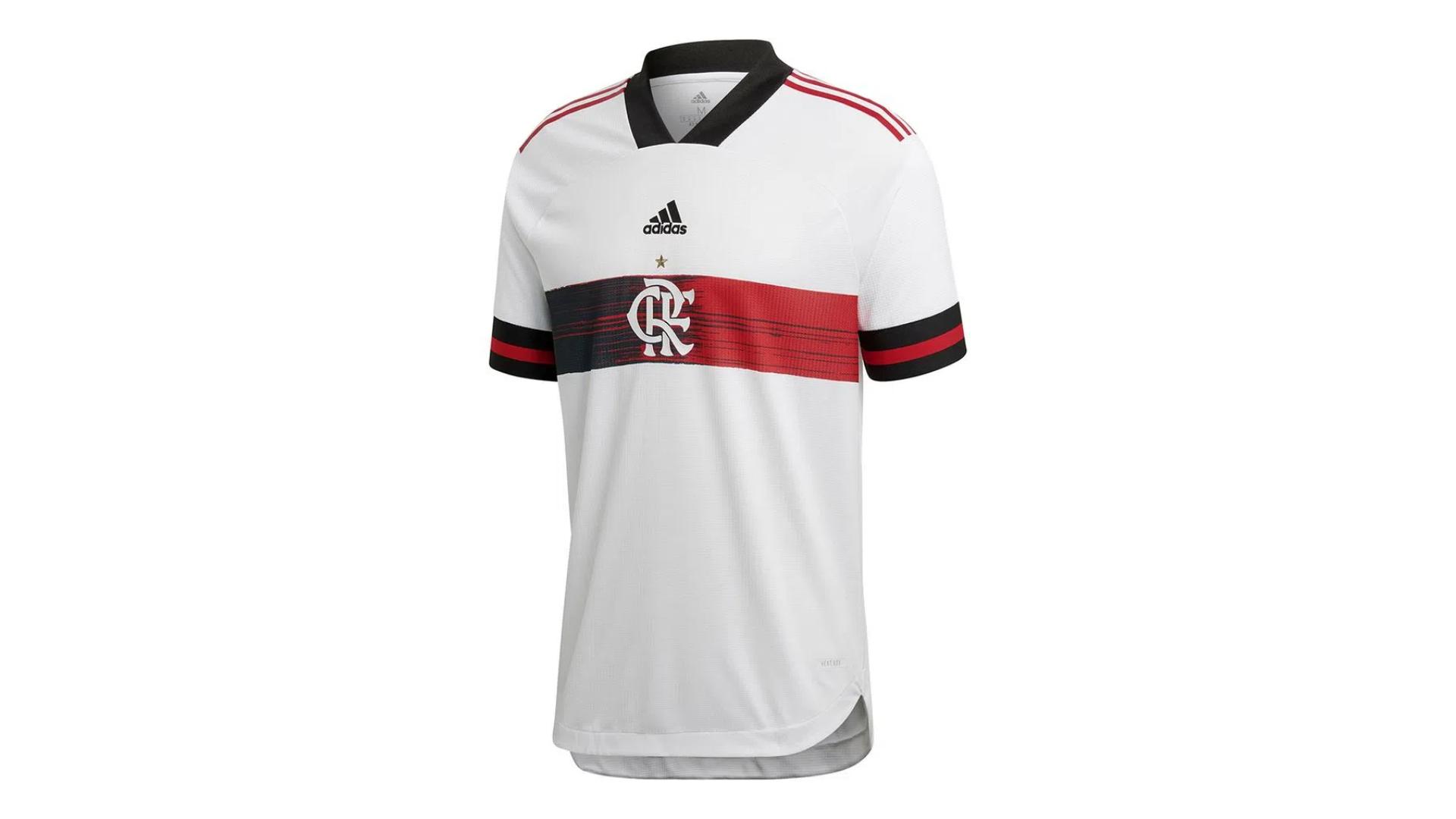 Camisa do Flamengo 2020 Adidas Jogo 2 (Imagem: Divulgação/Adidas)