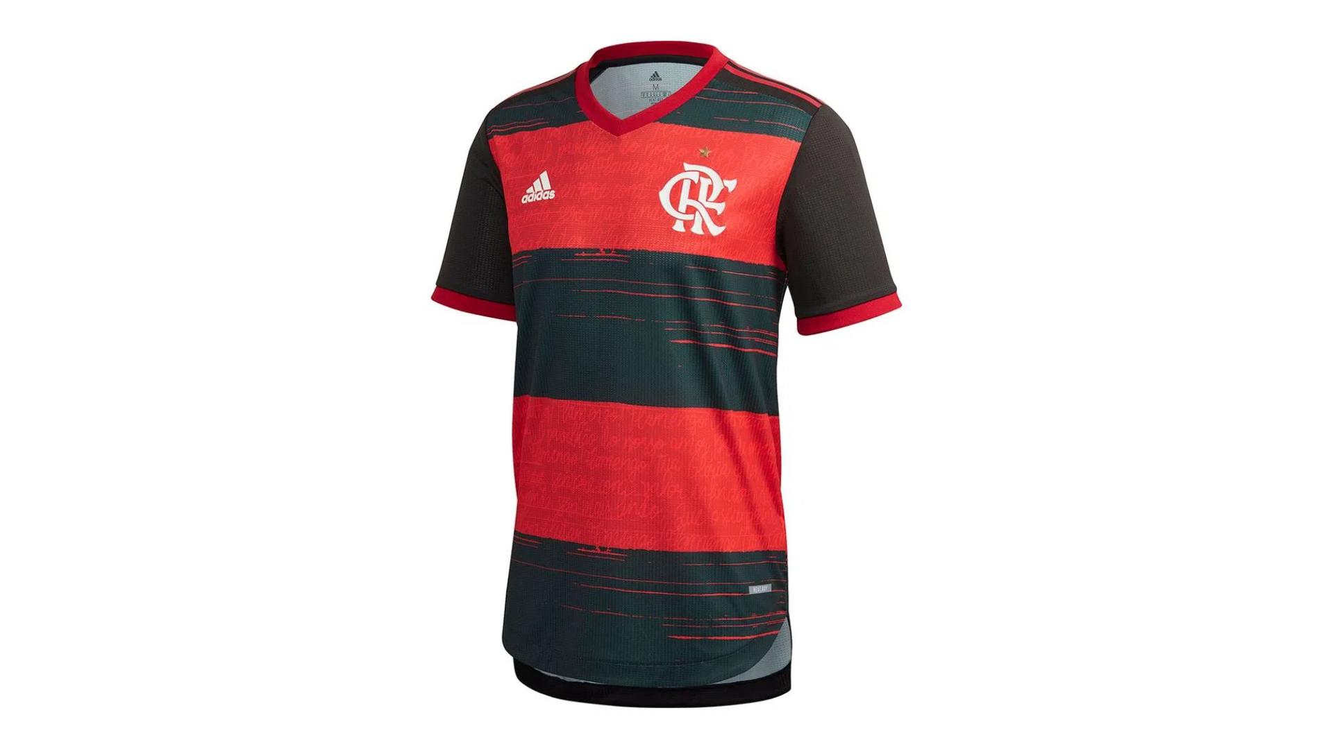 Camisa do Flamengo 2020 Adidas Jogo 1 (Imagem: Divulgação/Adidas)