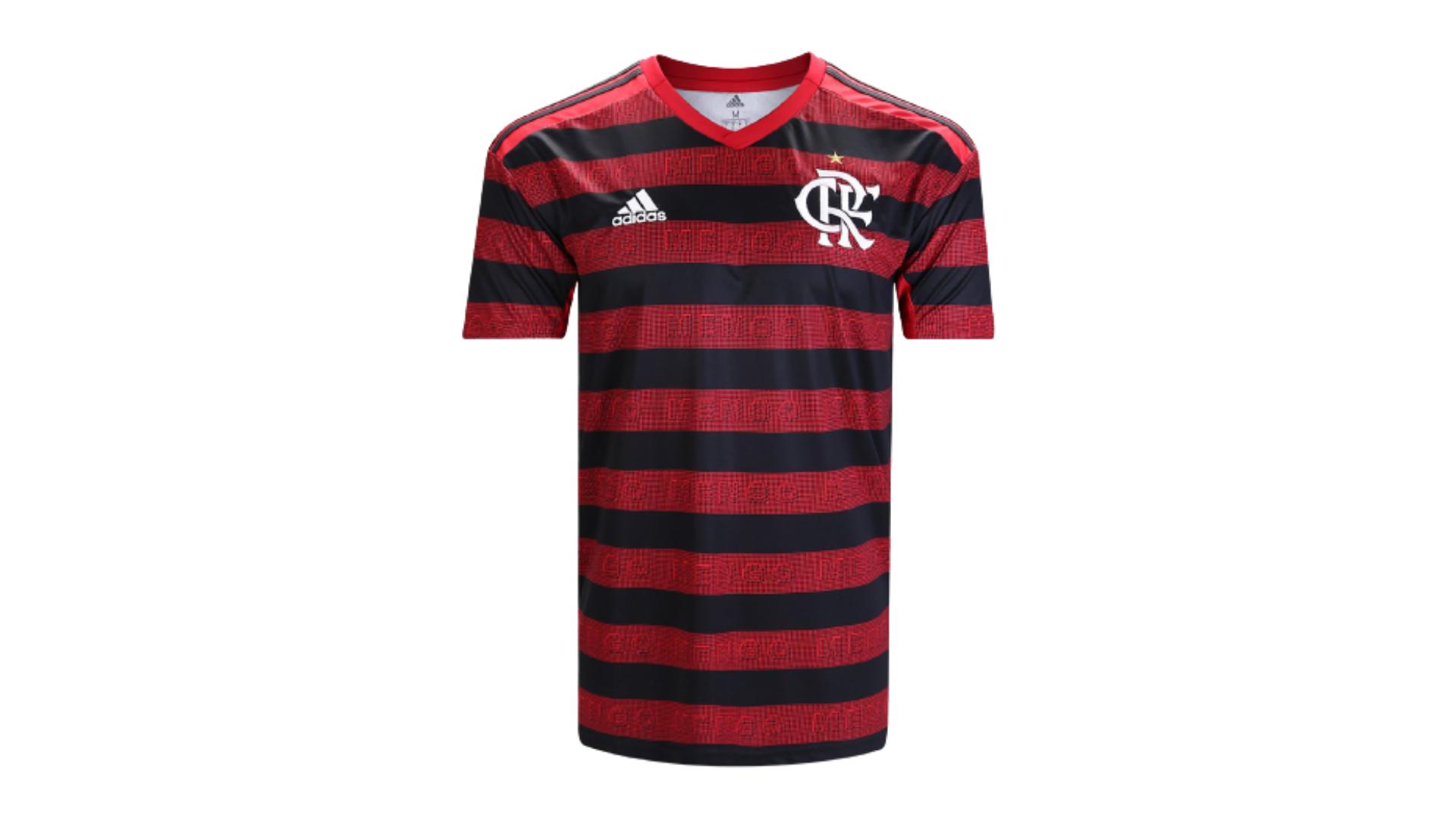 Camisa do Flamengo 2019 Adidas Jogo 1 (Imagem: Divulgação/Adidas)