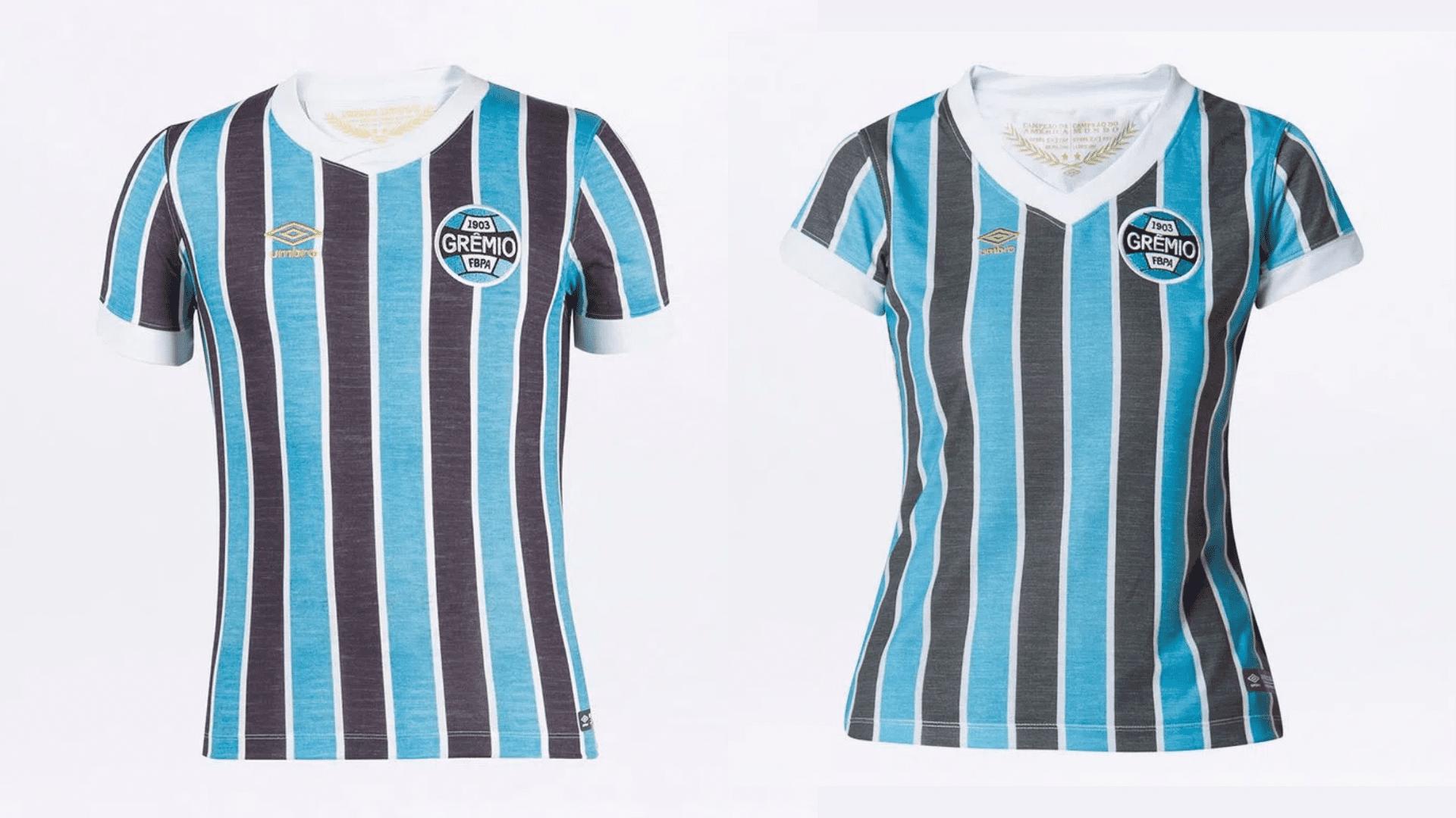 Camisa do Grêmio Retrô 1983 (Imagem: Divulgação/Umbro)