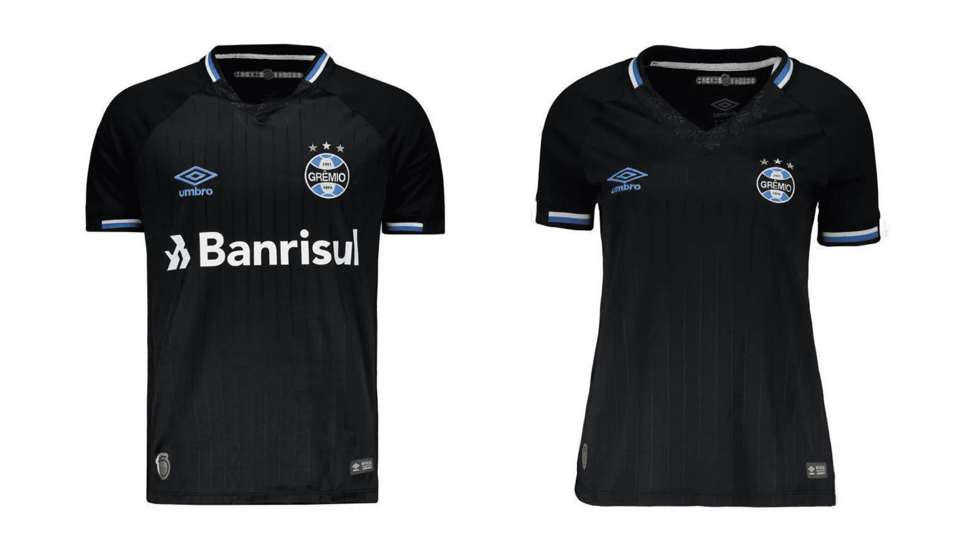 Camisa do Grêmio 2018 Umbro Jogo 3 (Imagem: Divulgação/Umbro)