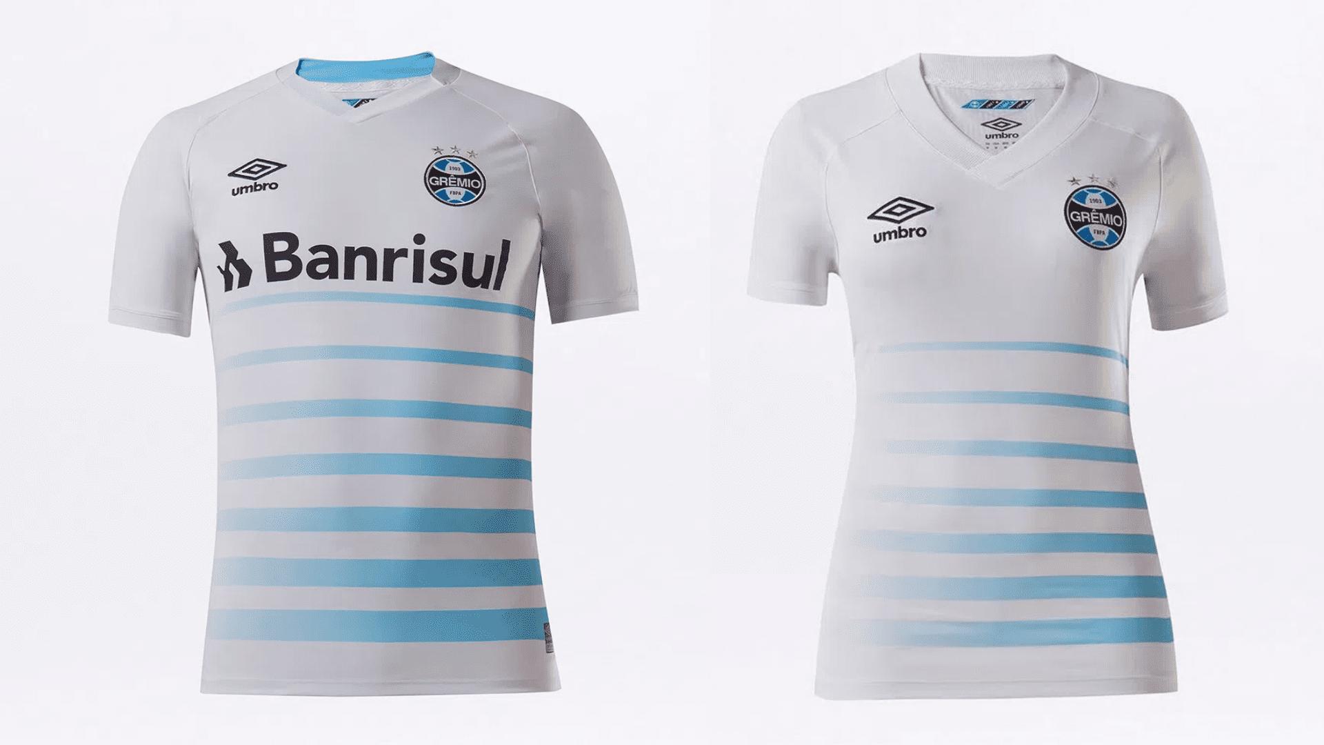 Camisa do Grêmio 2021 Umbro Jogo 2 (Imagem: Divulgação/Umbro)