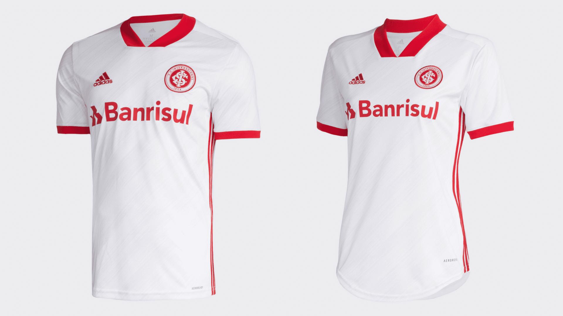 Camisa do Internacional 2020 Adidas Jogo 2 (Imagem: Divulgação/Adidas)