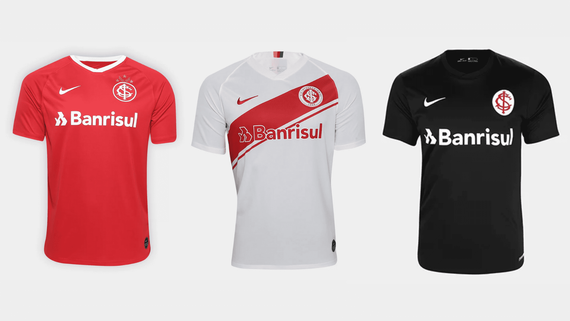 Camisa do Internacional 2019 Nike Jogo 1, 2 e 3 (Imagem: Divulgação/Nike)