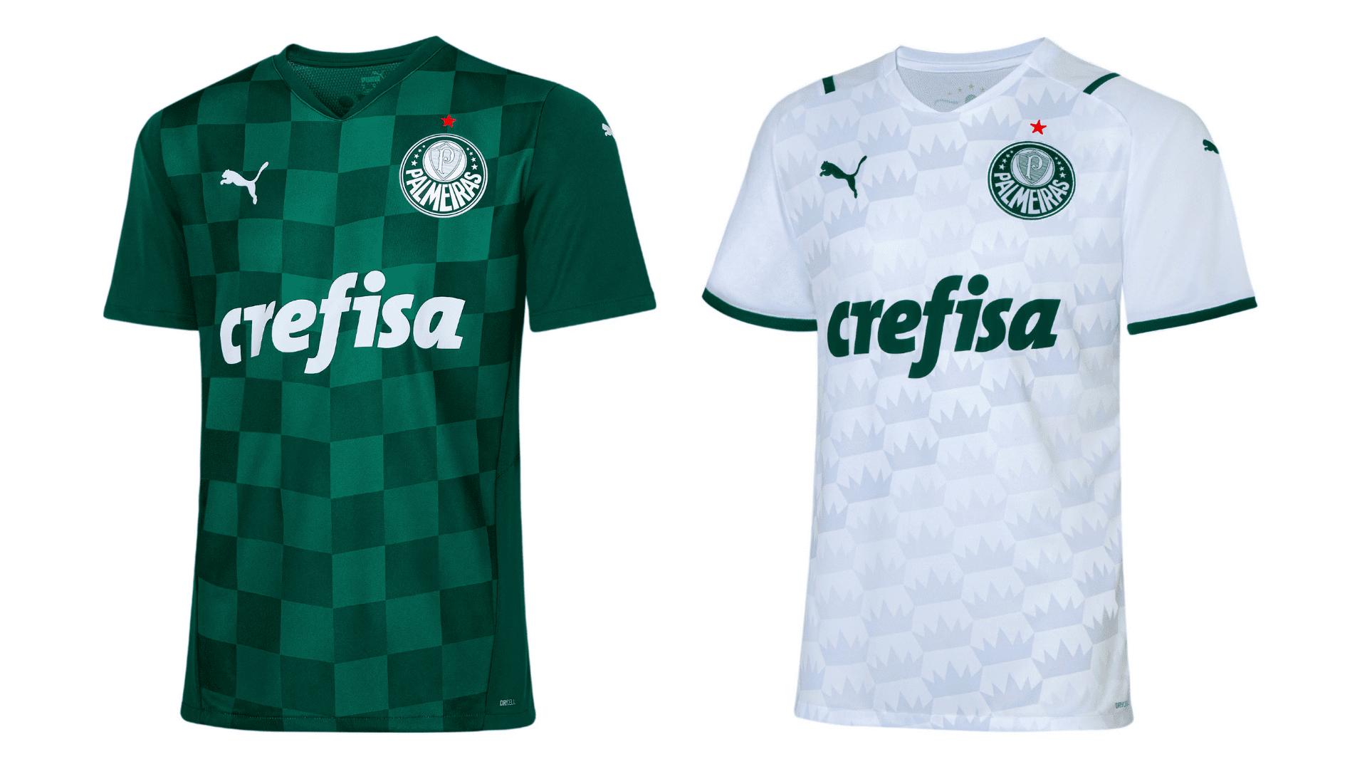 Camisa do Palmeiras 2021 Puma Jogo 1 e 2 (Imagem: Divulgação/Puma)