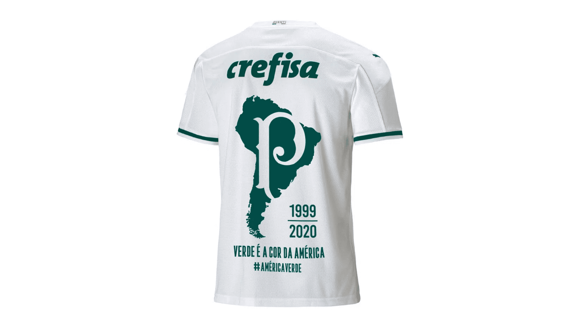 Camisa do Palmeiras Libertadores 2020 Puma Jogo 2 (Imagem: Divulgação/Puma)