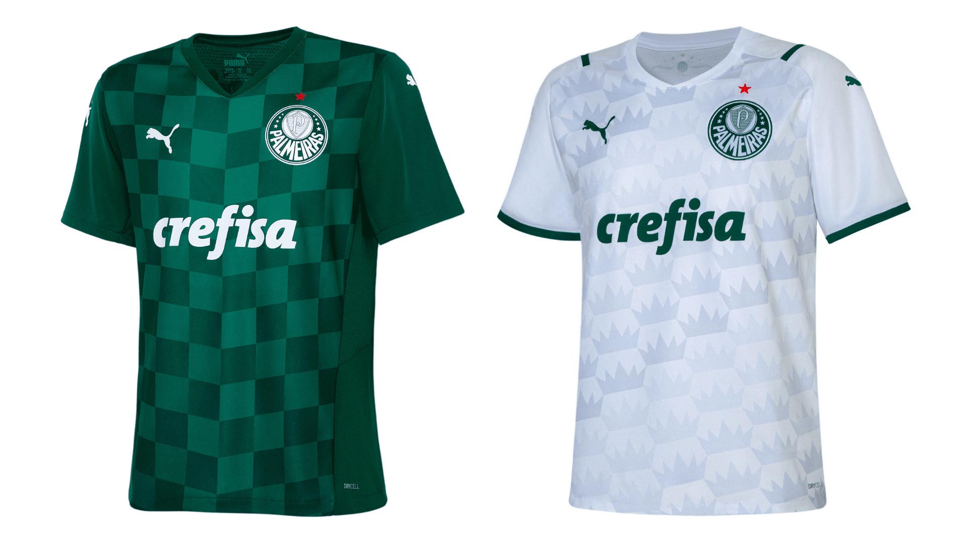 Camisa do Palmeiras Infantil 2021 Puma Jogo 1 (Imagem: Divulgação/Puma)