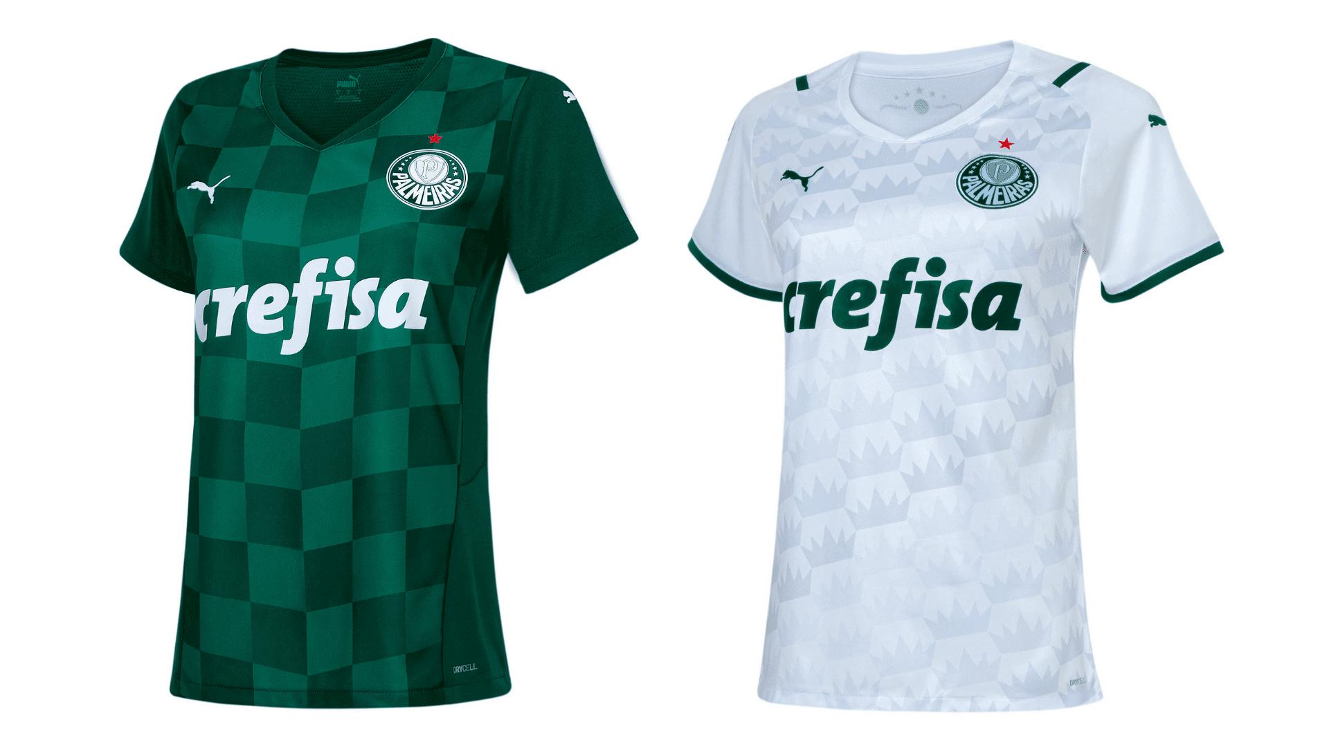 Camisa do Palmeiras Feminina 2021 Puma Jogo 1 (Imagem: Divulgação/Puma)