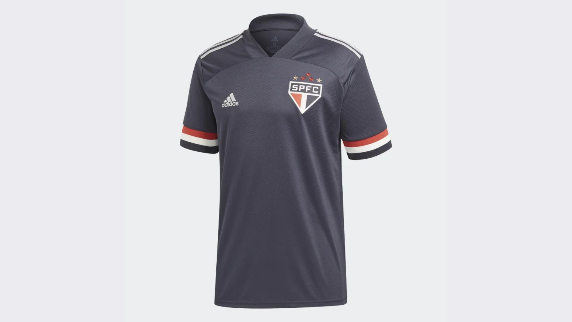 Camisa do São Paulo 2020 Adidas Jogo 3 (Imagem: Divulgação/Adidas)
