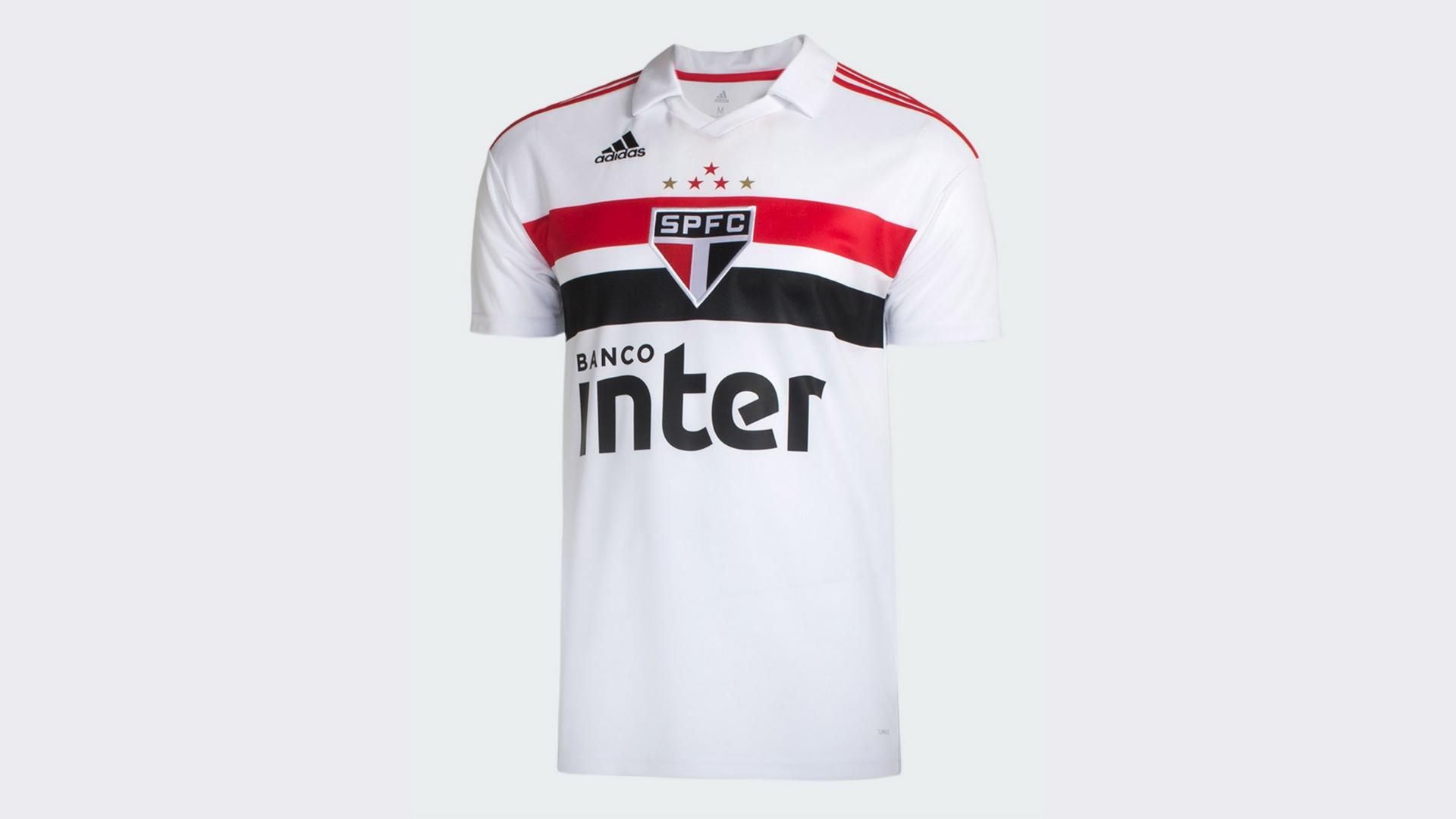 Camisa do São Paulo 2019 Adidas Jogo 1 (Imagem: Divulgação/Adidas)
